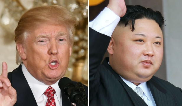 As tensions rise with North Korea, U.S. President Donald Trump claimed the U.S. nuclear arsenal is  far stronger and more powerful  than ever in a pair of tweets.