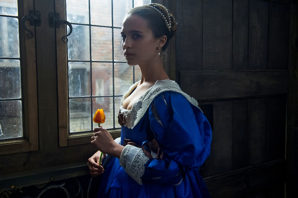 A scene from 'Tulip Fever'