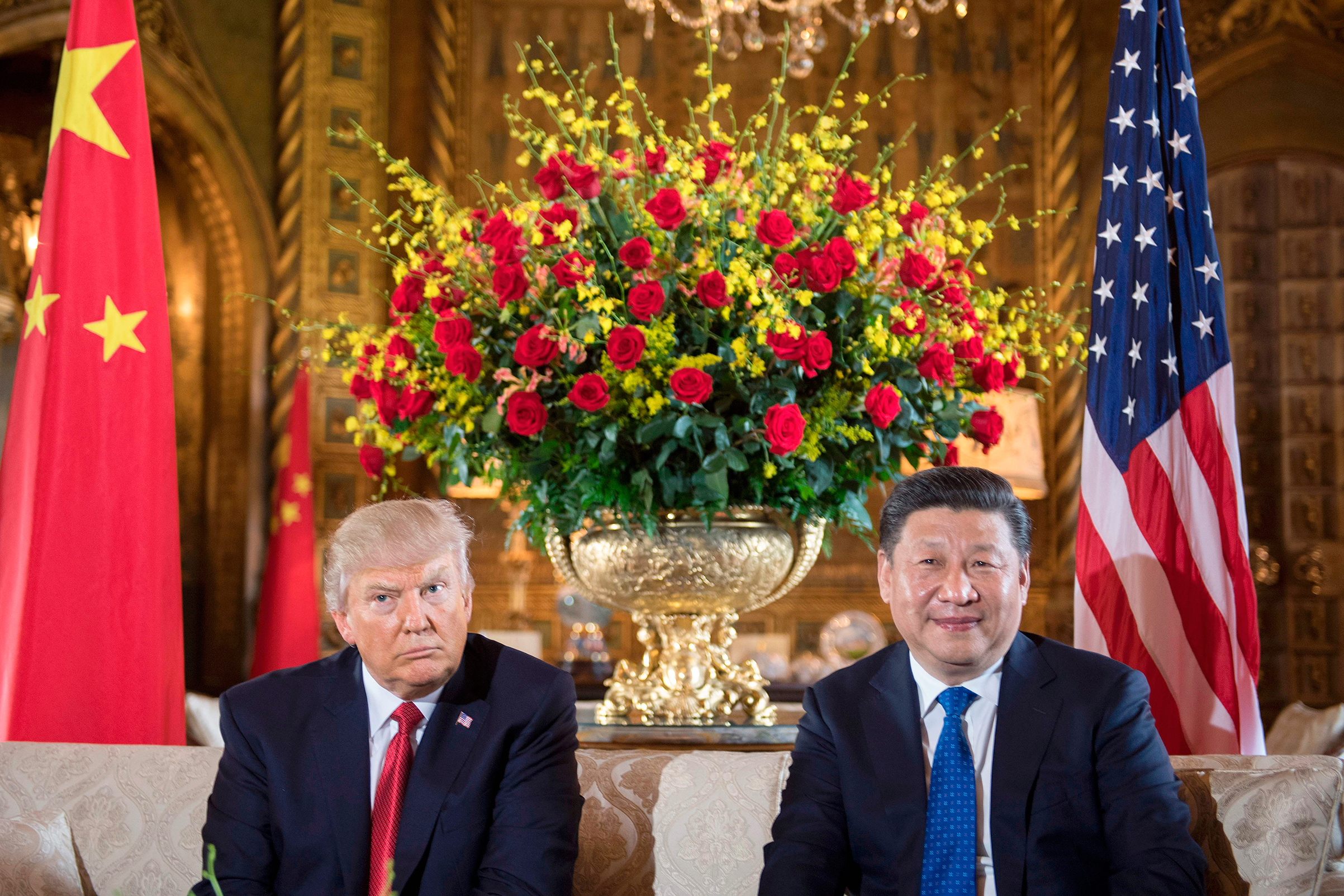 Global side-eye: Trump and Xi's relationship has grown more tense since meeting at Mar-a-Lago earlier this year