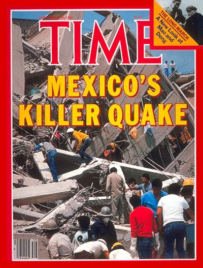 The Sep. 30, 1985, cover of TIME