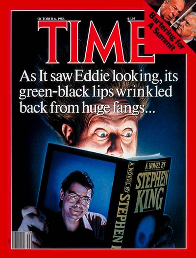 Oct. 6, 1986, cover of TIME featuring Stephen King