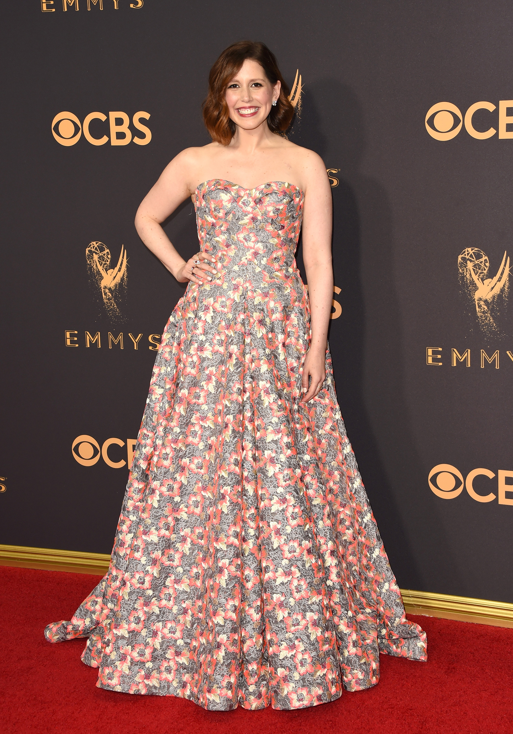 Actor Vanessa Bayer attends the 69th Annual Primetime Emmy Awards at Microsoft Theater on September 17, 2017 in Los Angeles, California.