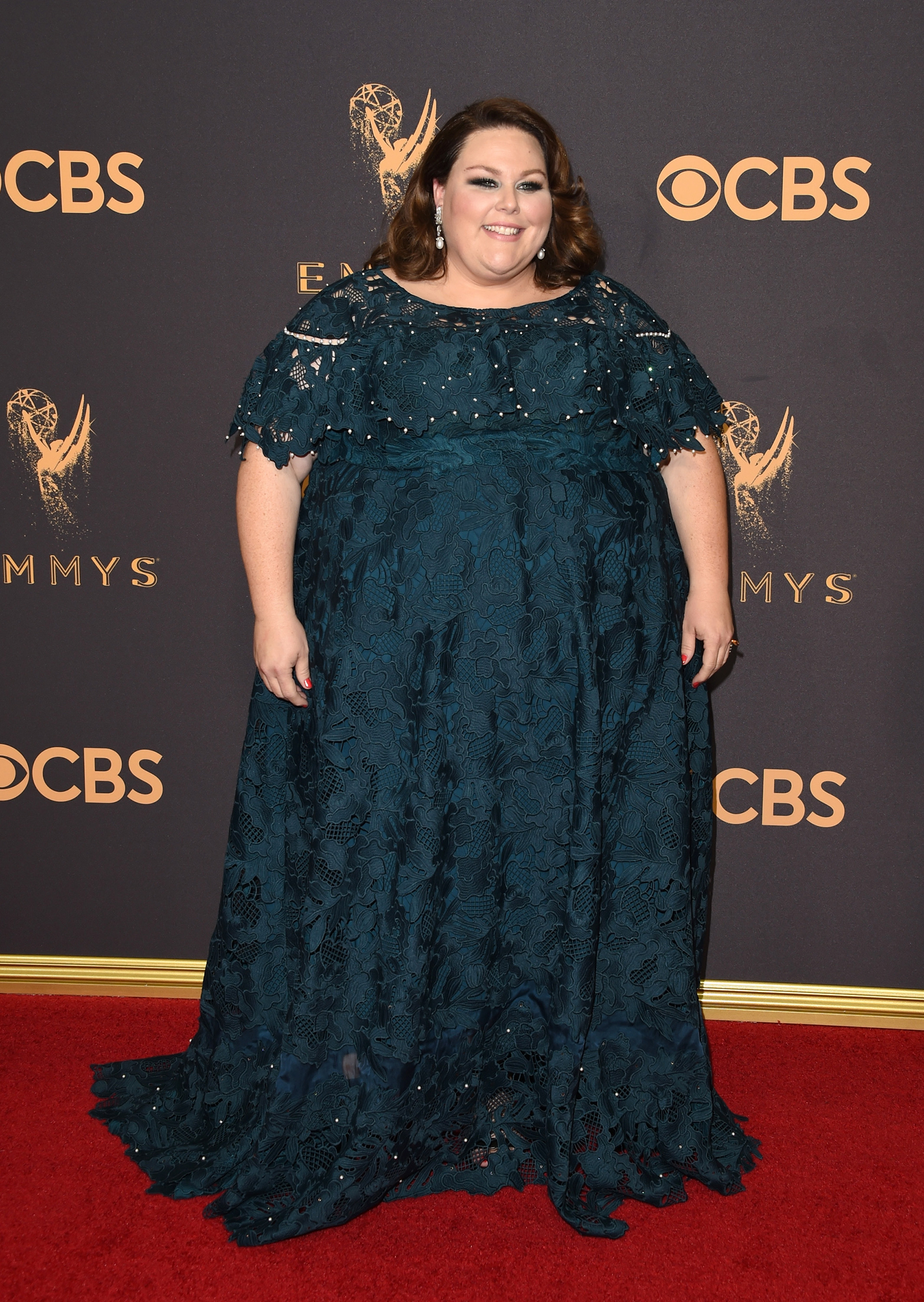 Actor Chrissy Metz attends the 69th Annual Primetime Emmy Awards at Microsoft Theater on September 17, 2017 in Los Angeles, California.
