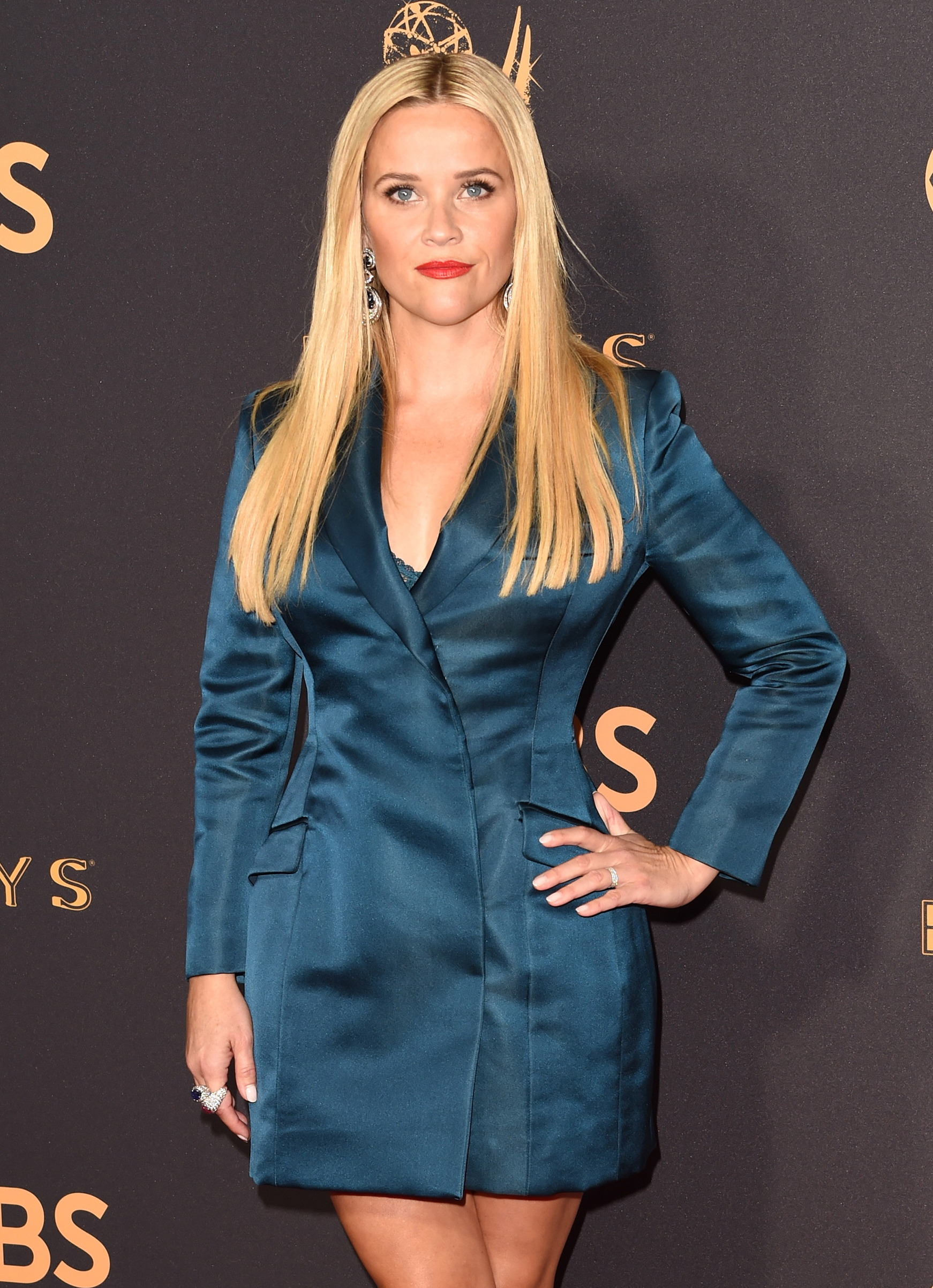 Actor Reese Witherspoon attends the 69th Annual Primetime Emmy Awards at Microsoft Theater on September 17, 2017 in Los Angeles, California.