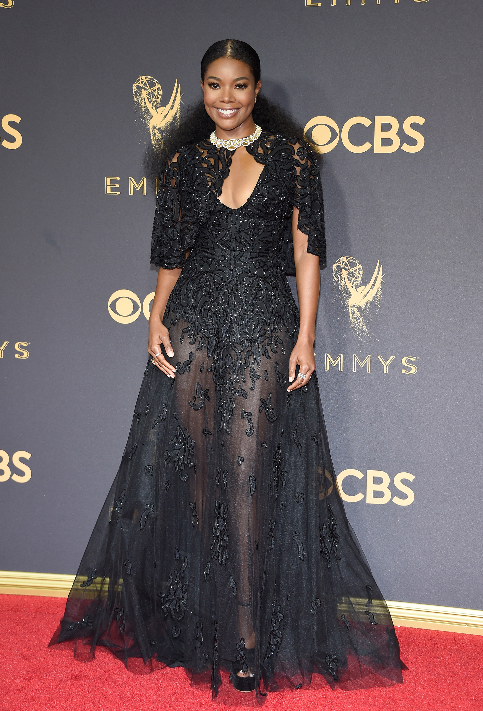 Actor Gabrielle Union attends the 69th Annual Primetime Emmy Awards at Microsoft Theater on September 17, 2017 in Los Angeles, California.