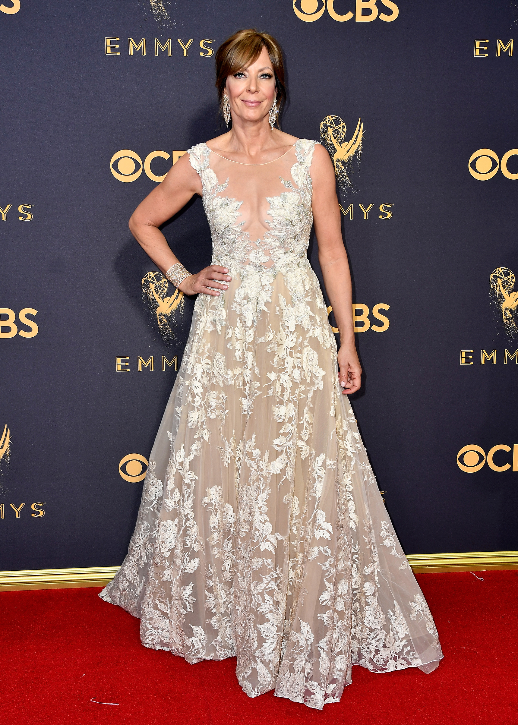 Actor Allison Janney attends the 69th Annual Primetime Emmy Awards at Microsoft Theater on September 17, 2017 in Los Angeles, California.
