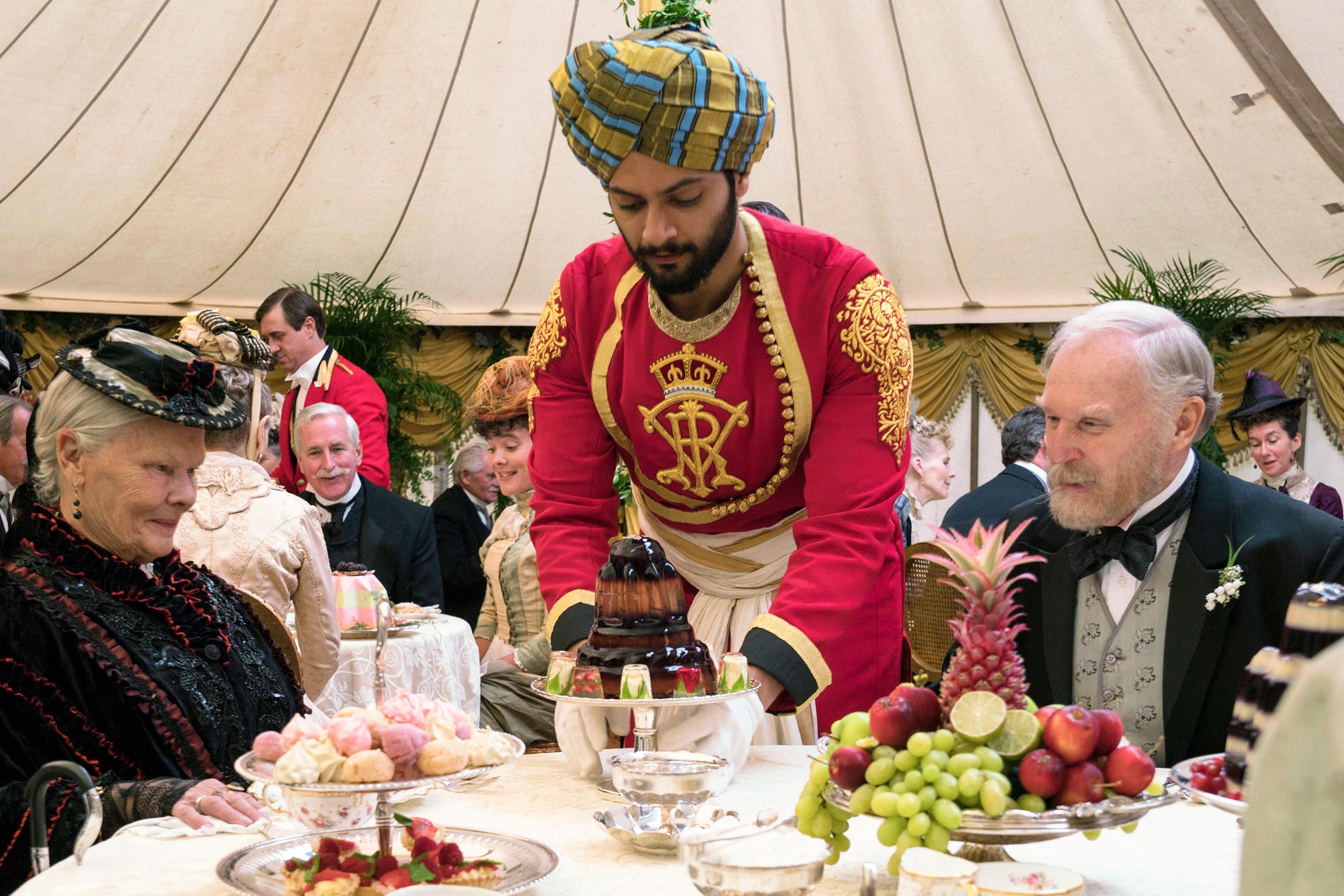 Still of Ali Fazal as Abdul Karim in Victoria and Abdul.