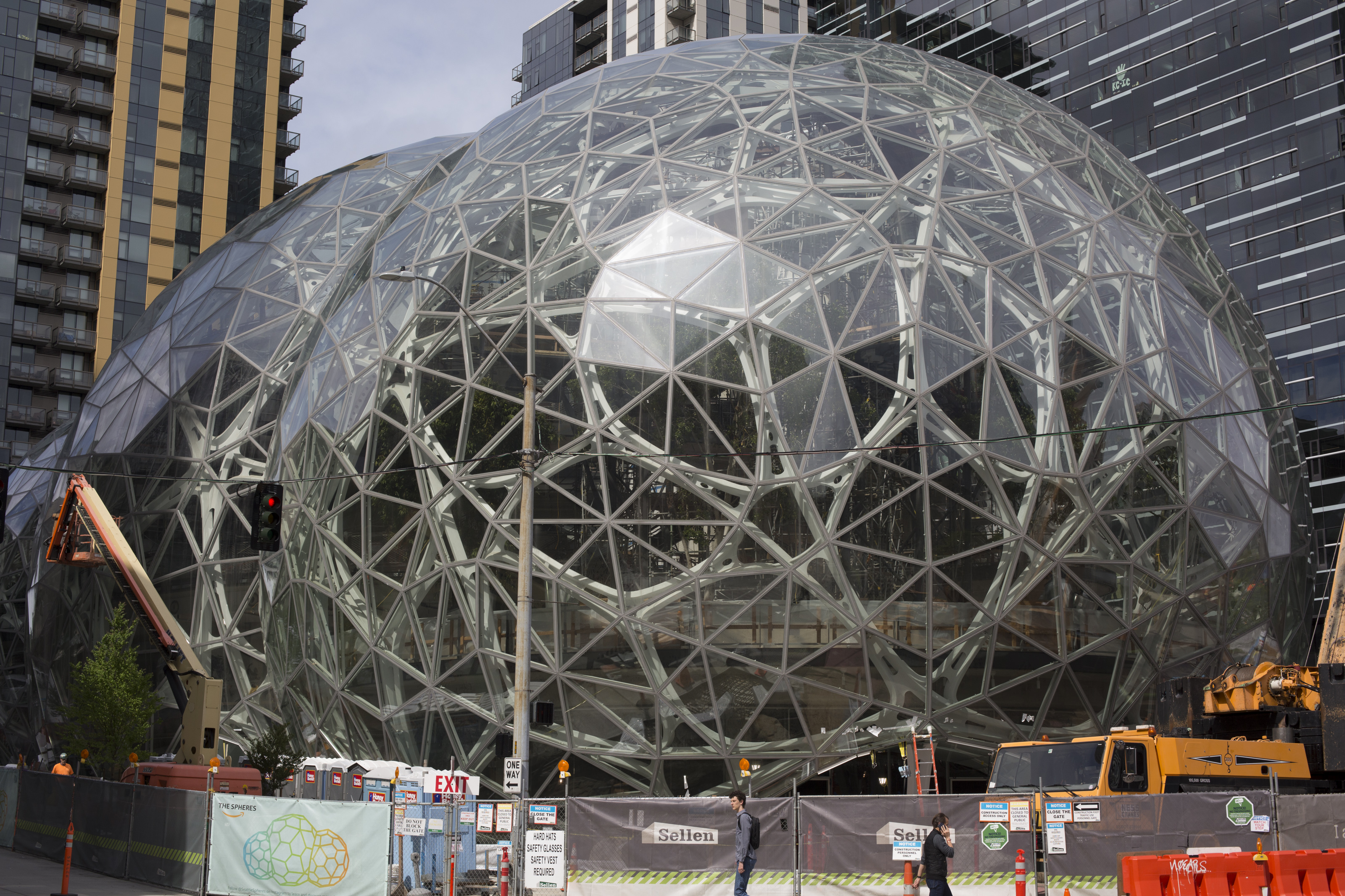 Amazon's corporate headquarters in Seattle, Washington.