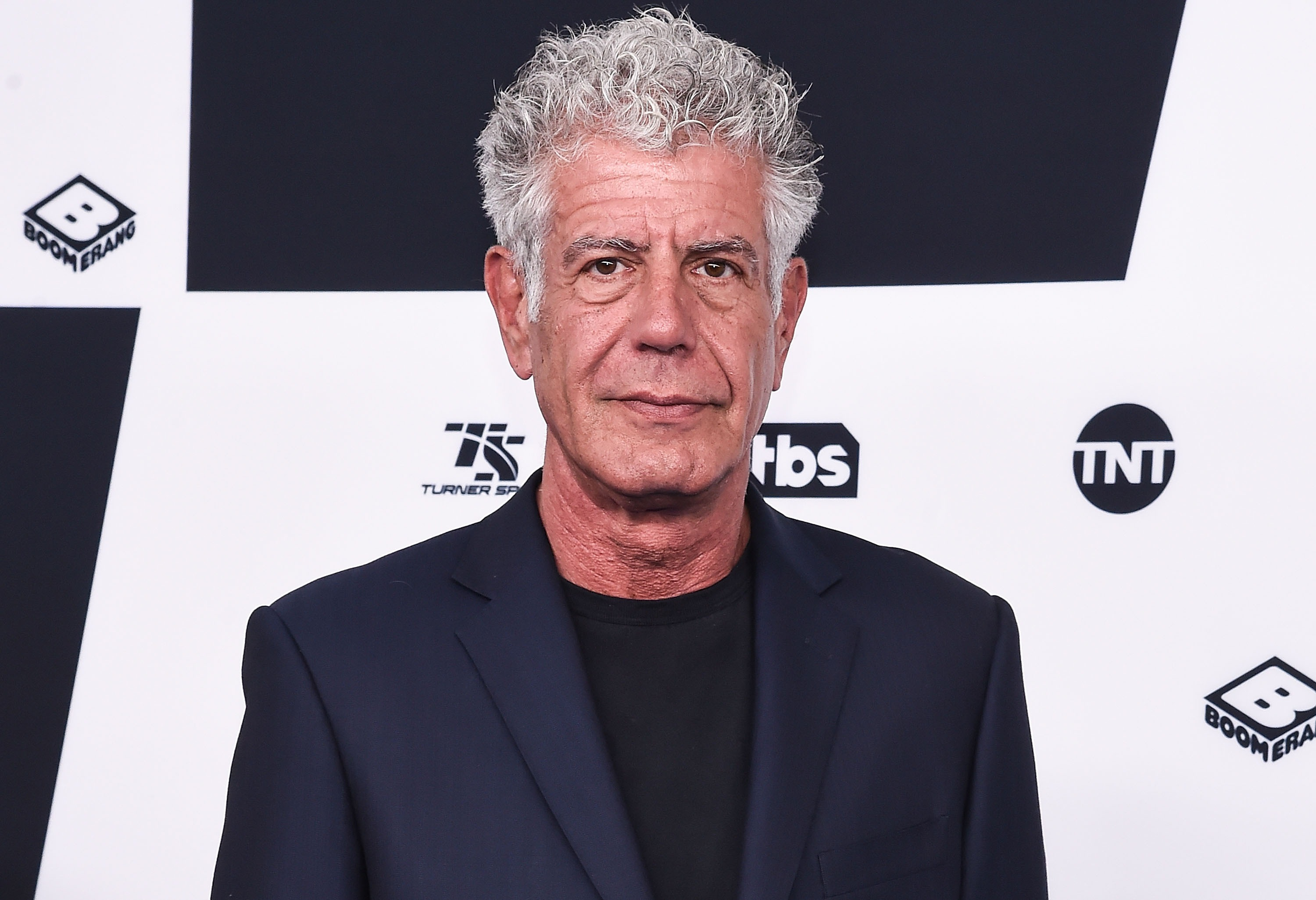 Anthony Bourdain attends the 2017 Turner Upfront at Madison Square Garden on May 17, 2017 in New York City.