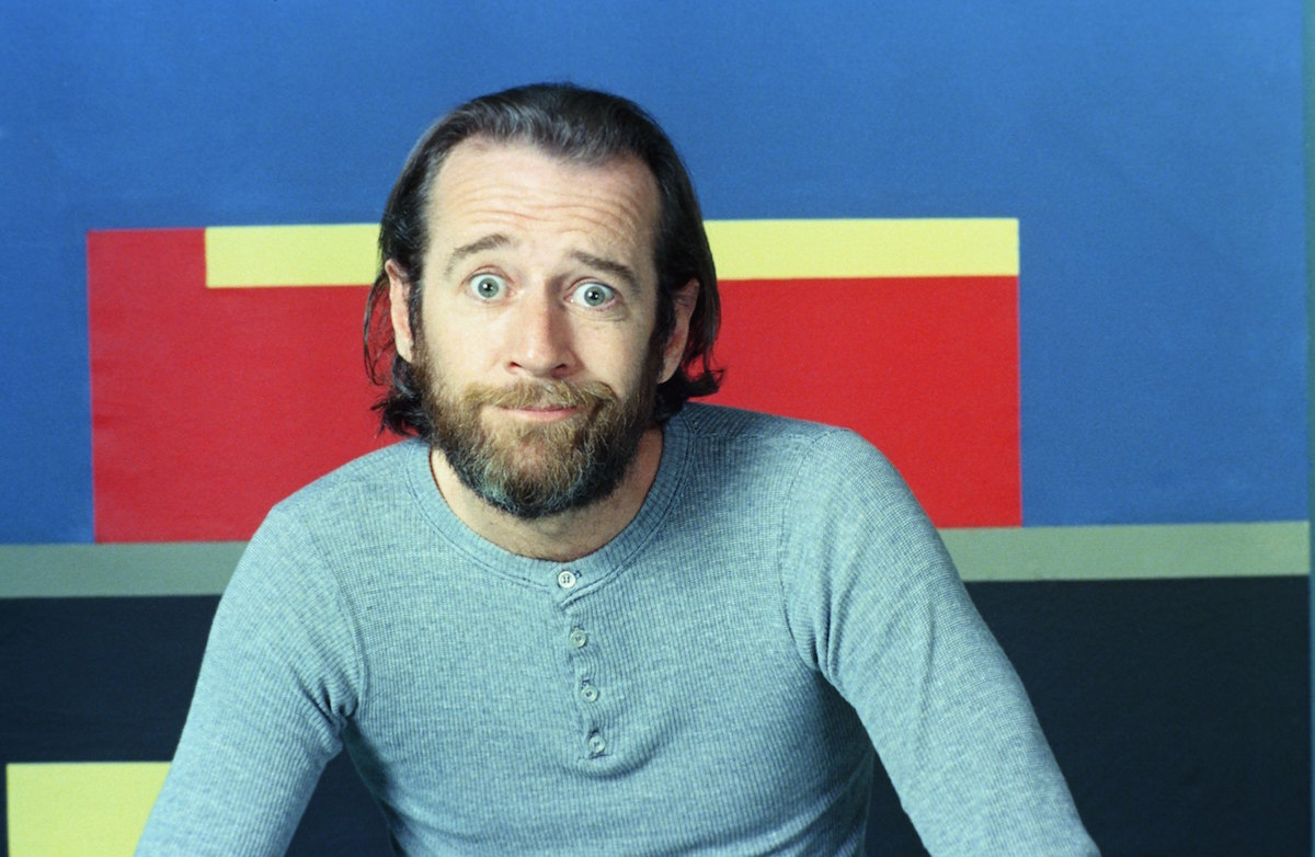 George Carlin in a promo shot for the first season of Saturday Night Live