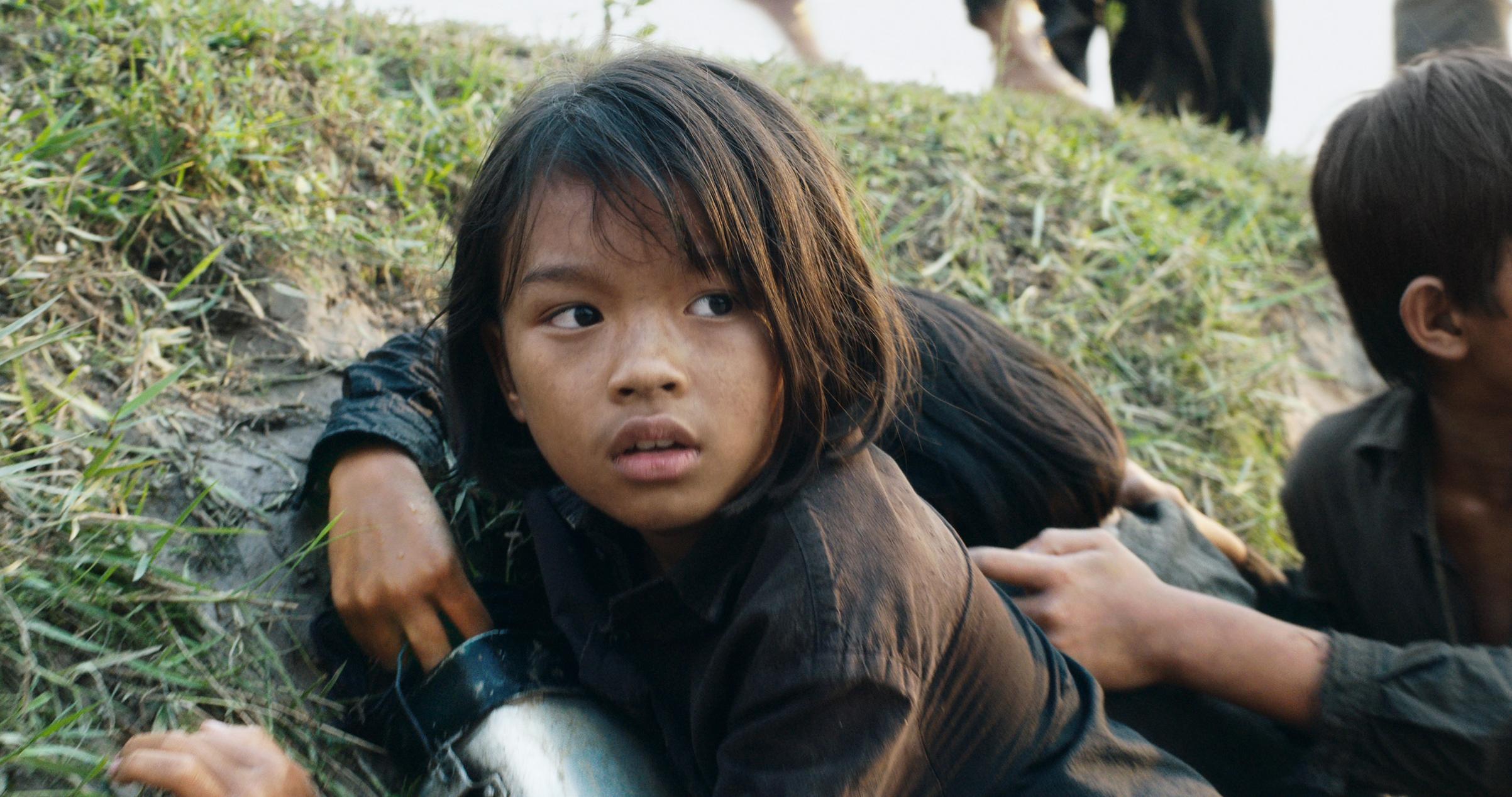 Sareum Srey Moch as Khmer Rouge survivor Loung Ung
