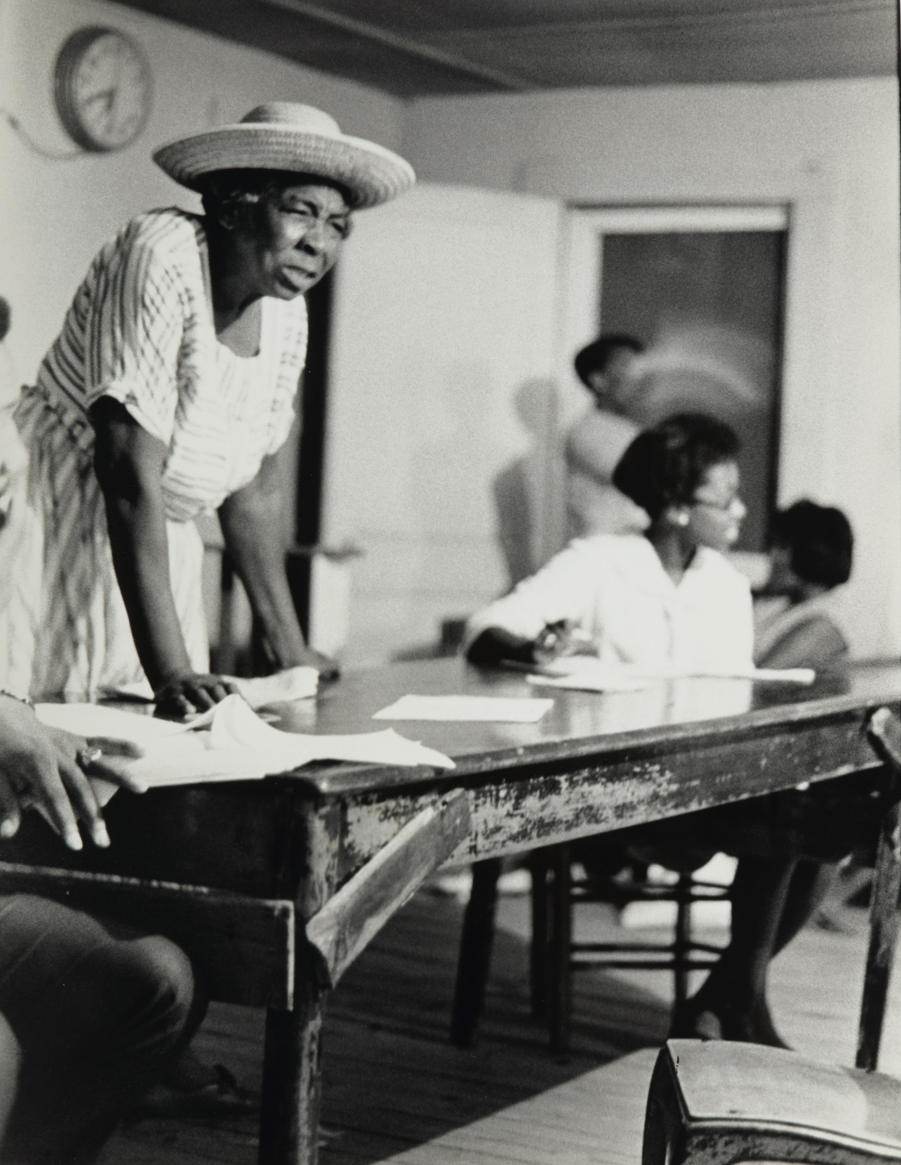 Doris Derby (American, born 1939), Grass Roots Organizer, Mississippi, 1968, gelatin silver print. High Museum of Art, Atlanta, purchase with funds from Jeff and Valerie Levy, 2007.188.