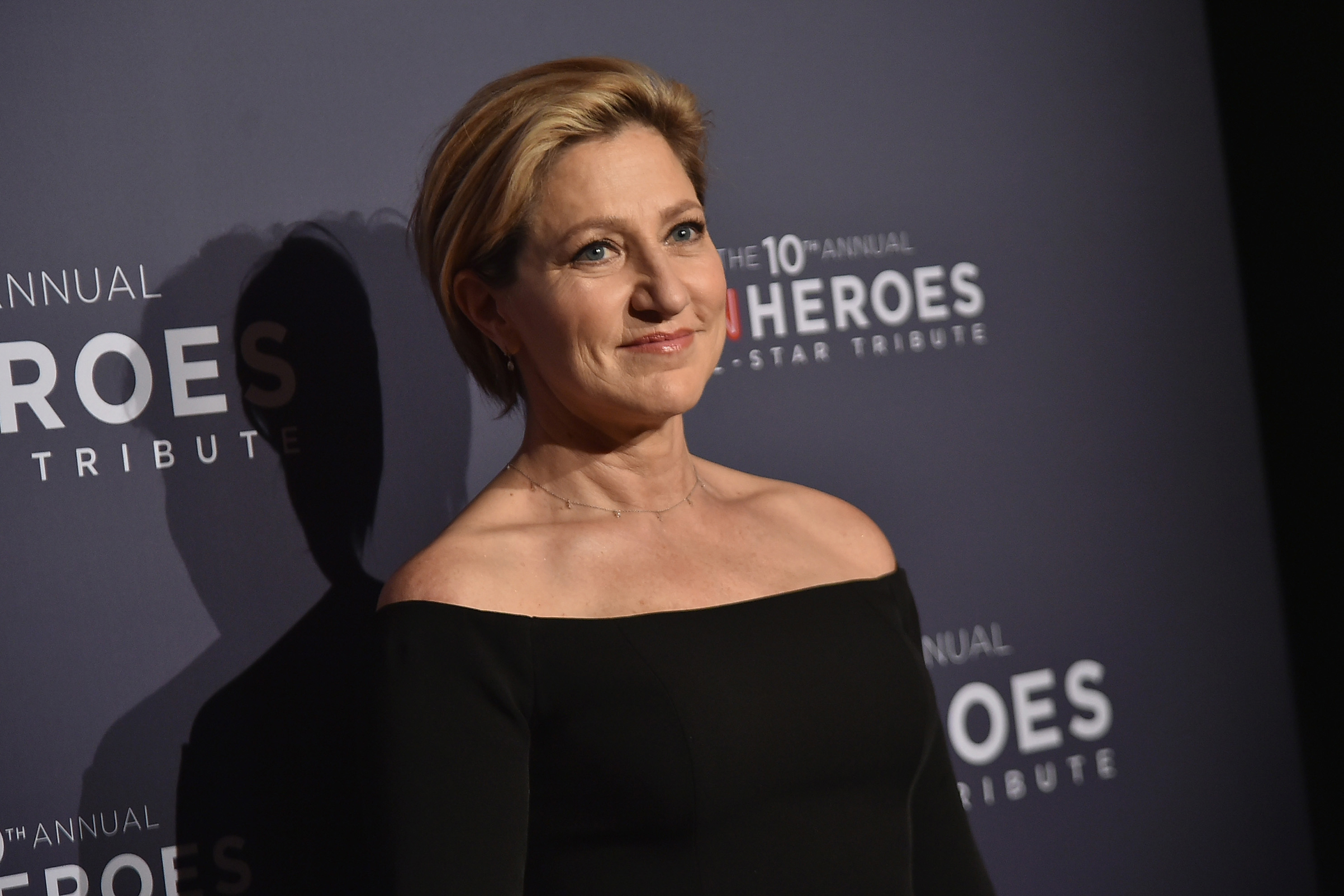 Edie Falco attends CNN Heroes Gala 2016 at the American Museum of Natural History on Dec. 11, 2016 in New York.