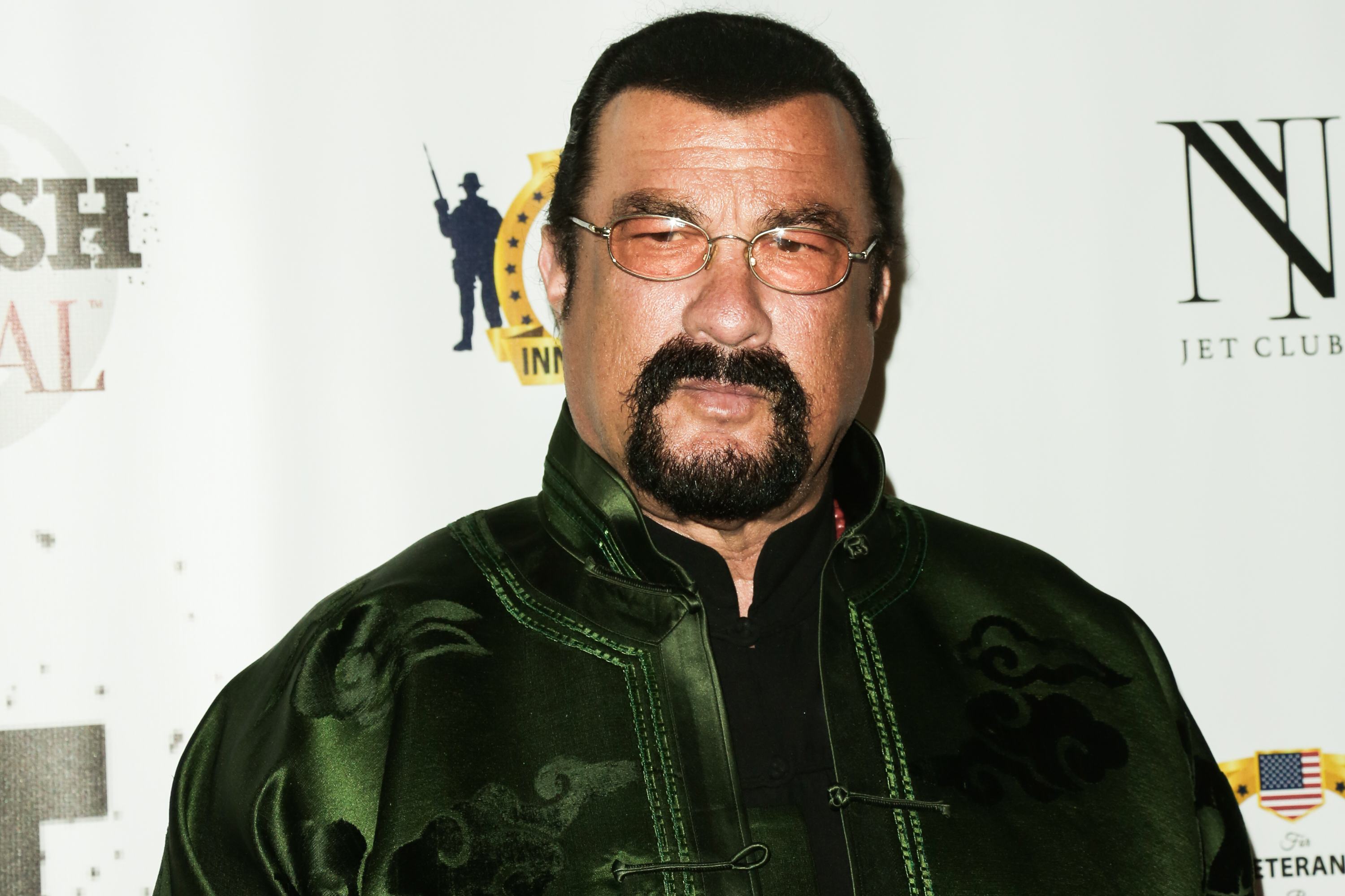 Steven Seagal in Los Angeles, Feb. 23, 2017.