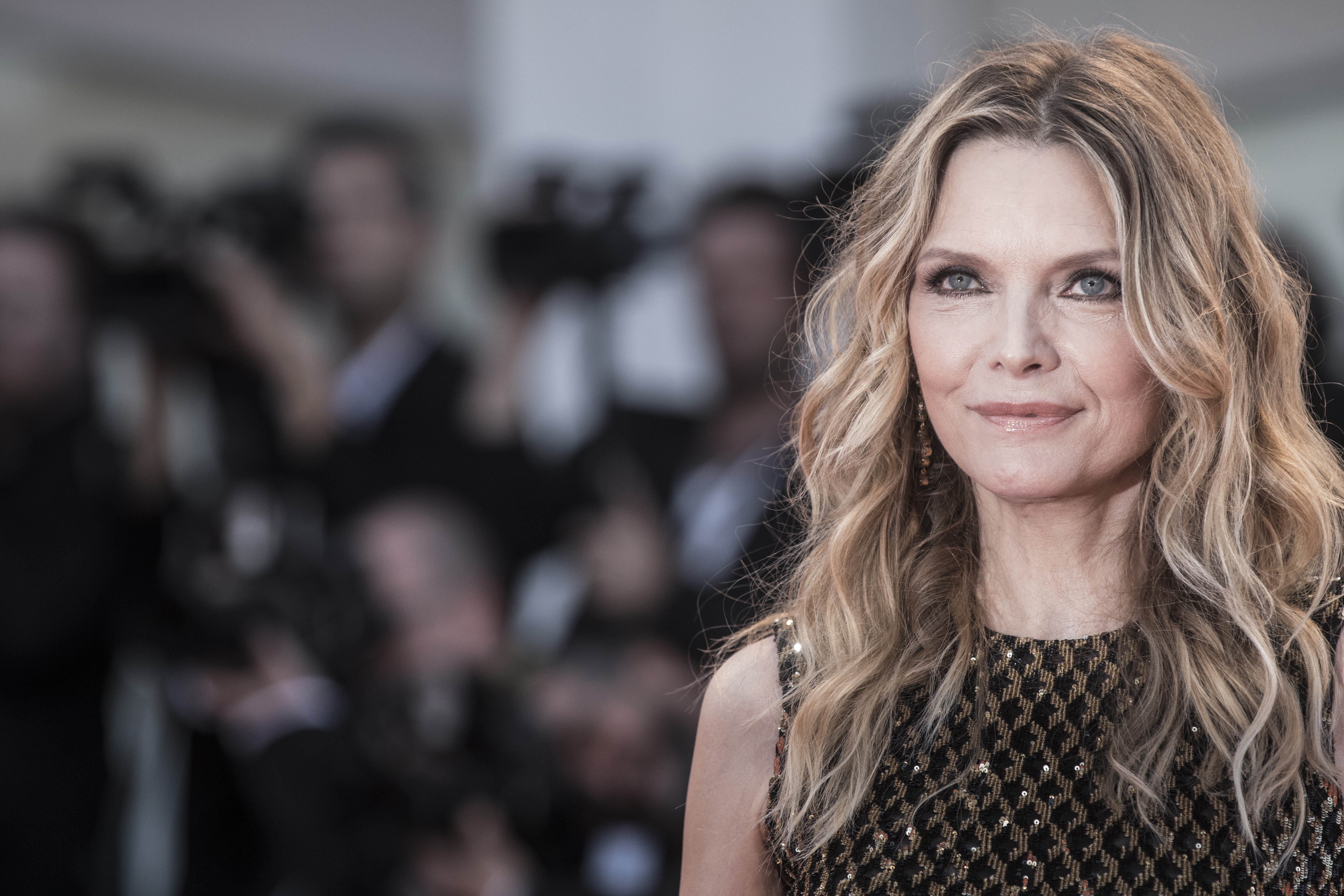 Michelle Pfeiffer attends the 'mother!' screening during the 74th Venice Film Festival at Sala Grande on September 5, 2017 in Venice, Italy.