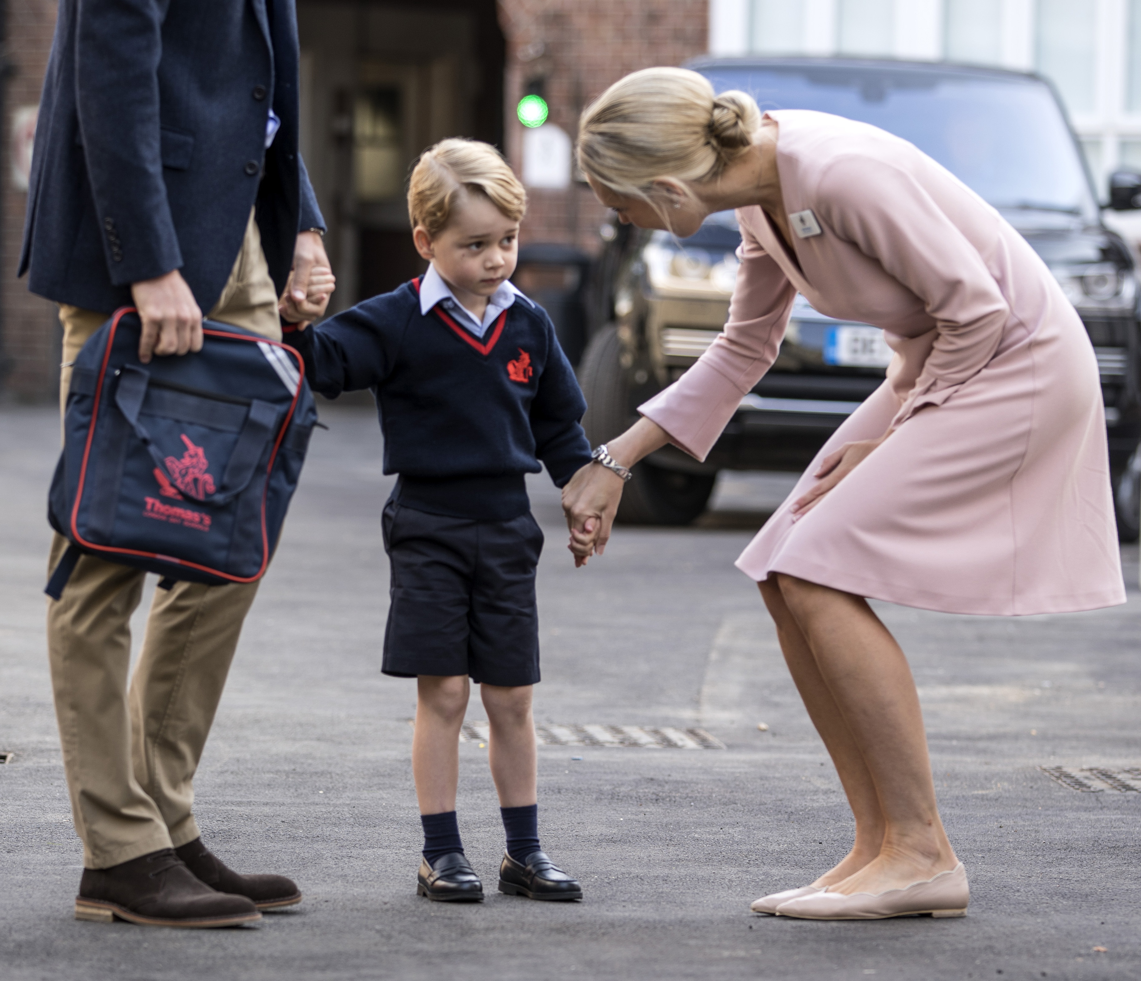Prince George Starts First Day at Elementary School | Time