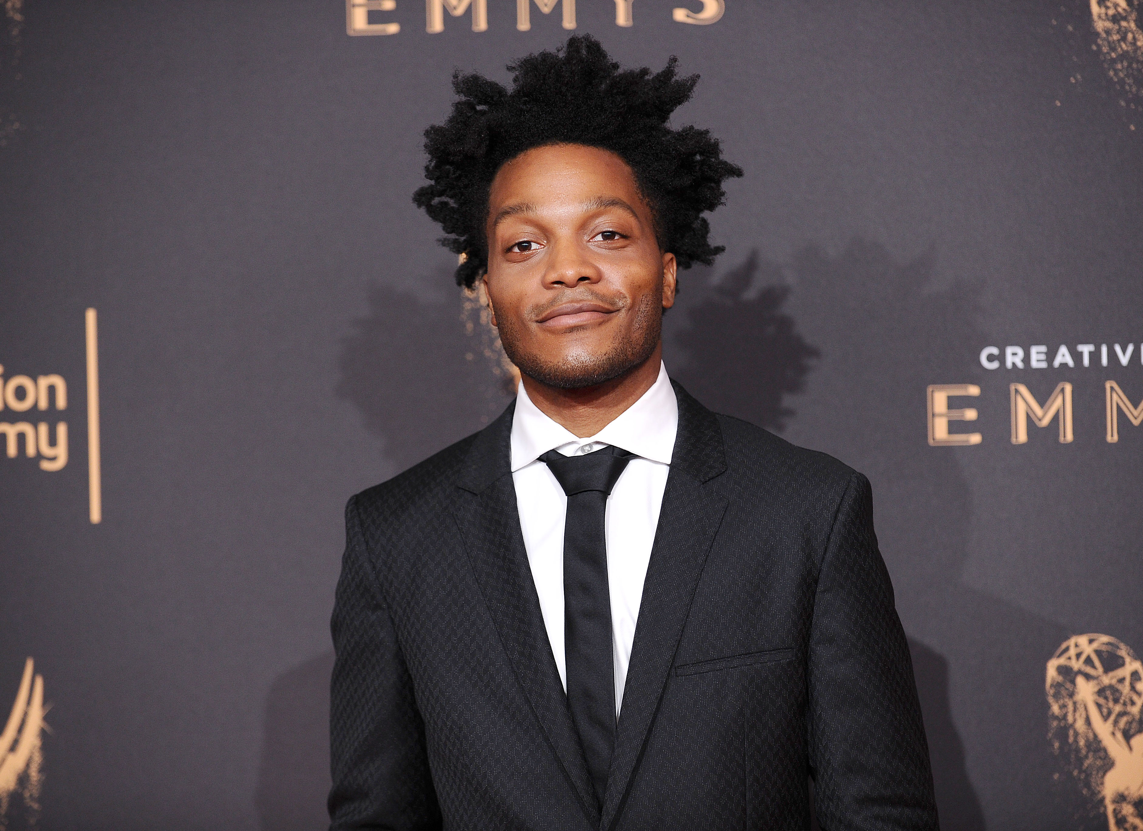 Jermaine Fowler attends the 2017 Creative Arts Emmy Awards at Microsoft Theater on September 10, 2017 in Los Angeles, California