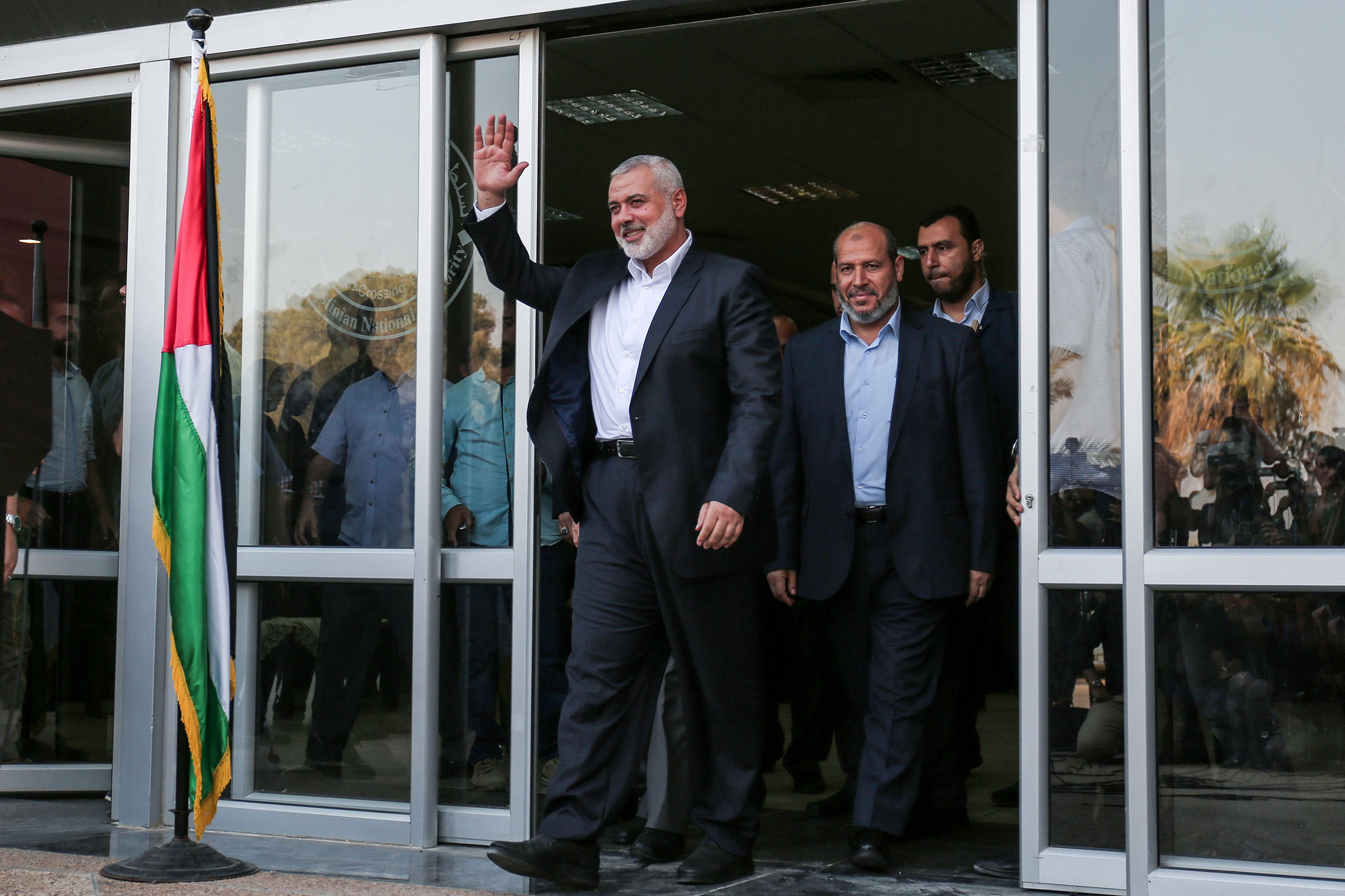 Hamas elected Ismail Haniyeh leader in May.