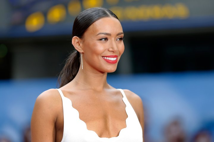 Ilfenesh Hadera attends the 'Baywatch' Photo Call in Berlin on May 30, 2017.