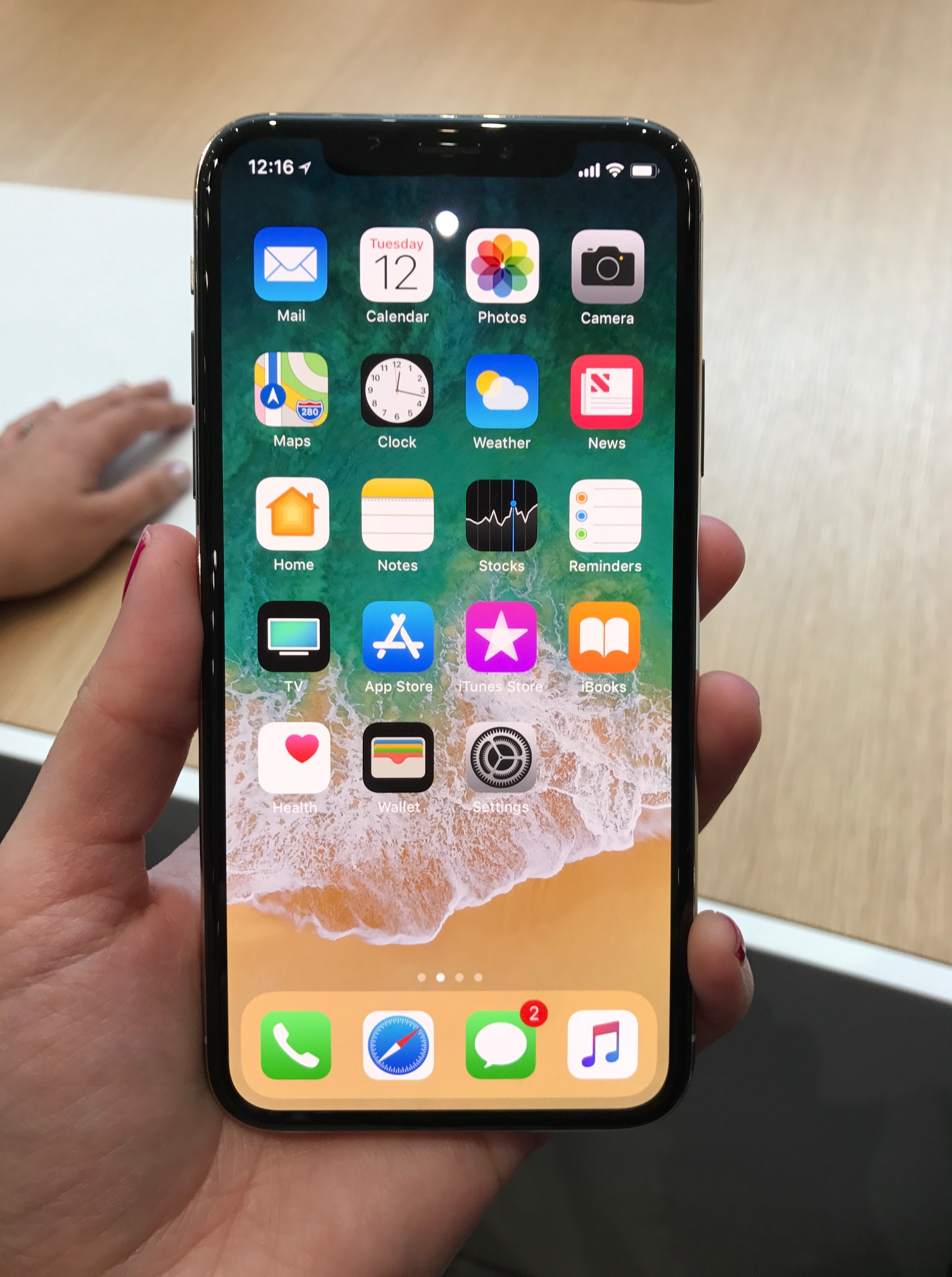 displaygröße iphone x