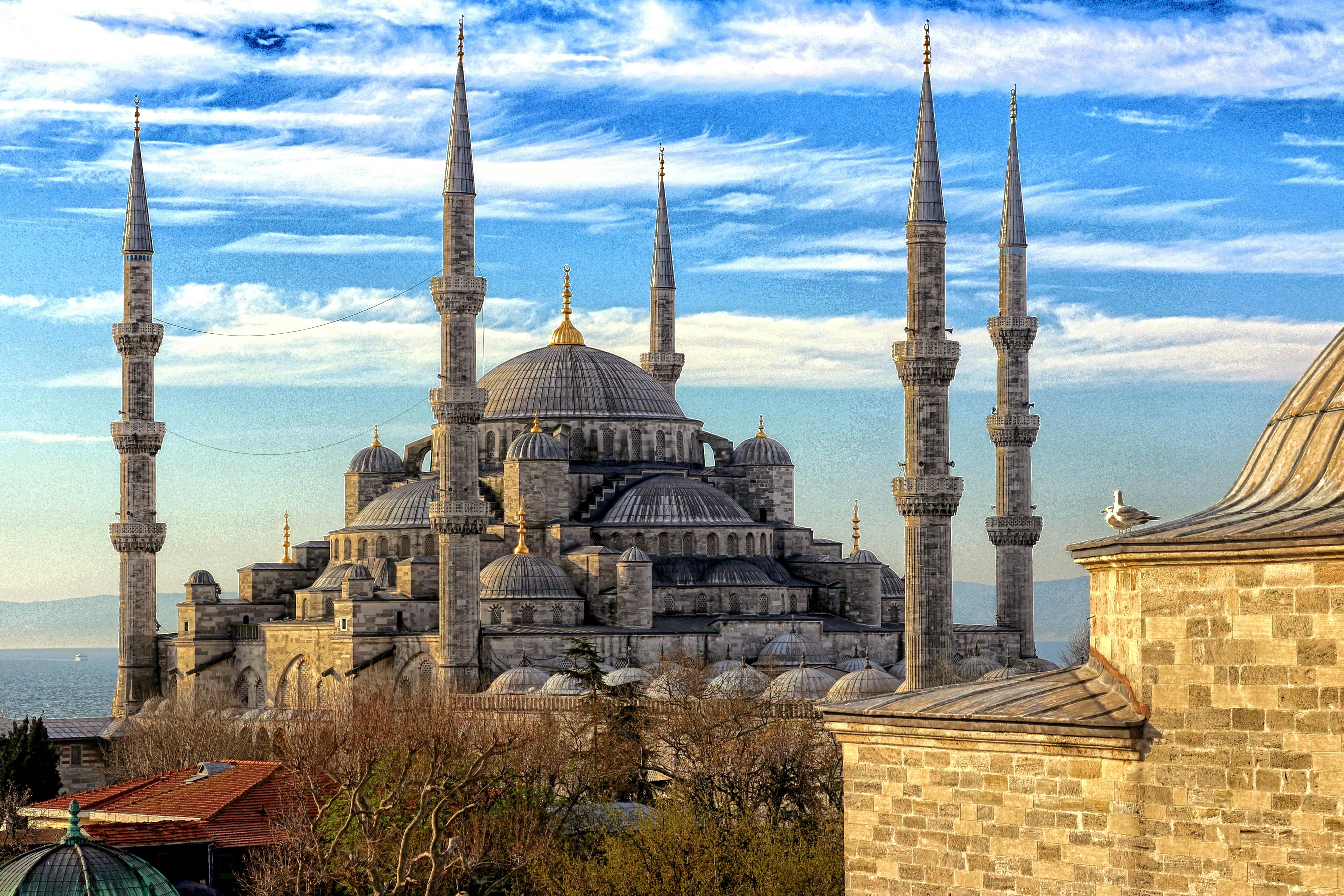 Scenic View Of Hagia Sophia Against Sky