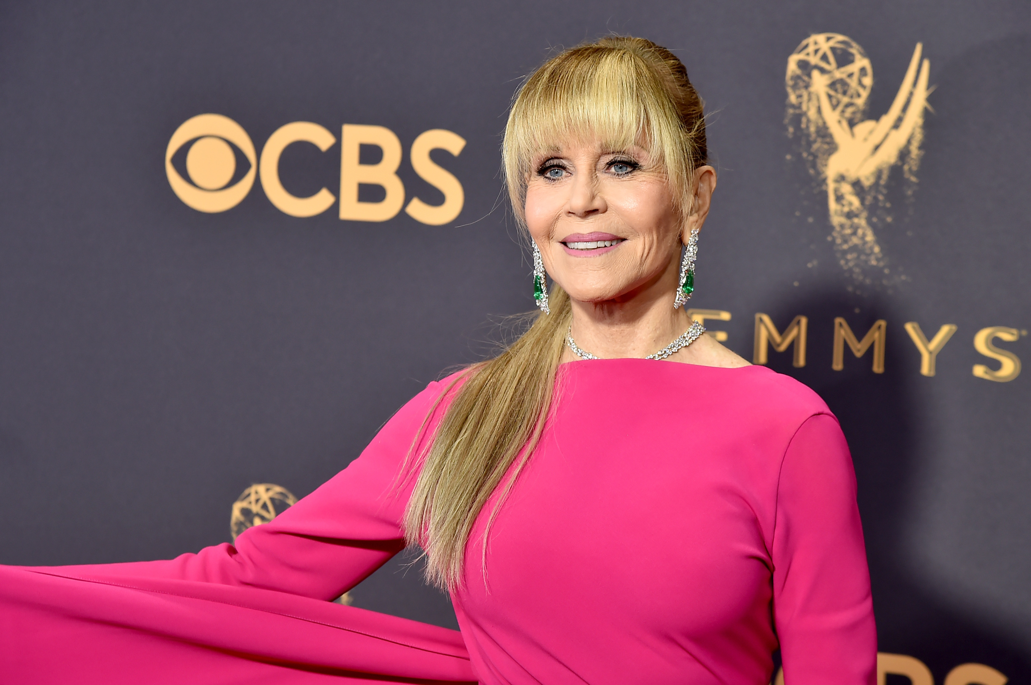 Actor Jane Fonda attends the 69th Annual Primetime Emmy Awards at Microsoft Theater on September 17, 2017 in Los Angeles, California.