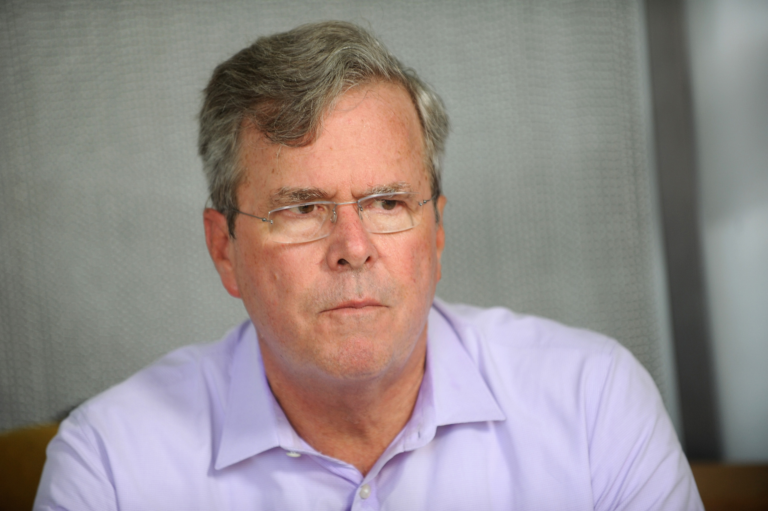 Jeb Bush speaks onstage during OZY FEST 2017 on July 22, 2017 in New York City.