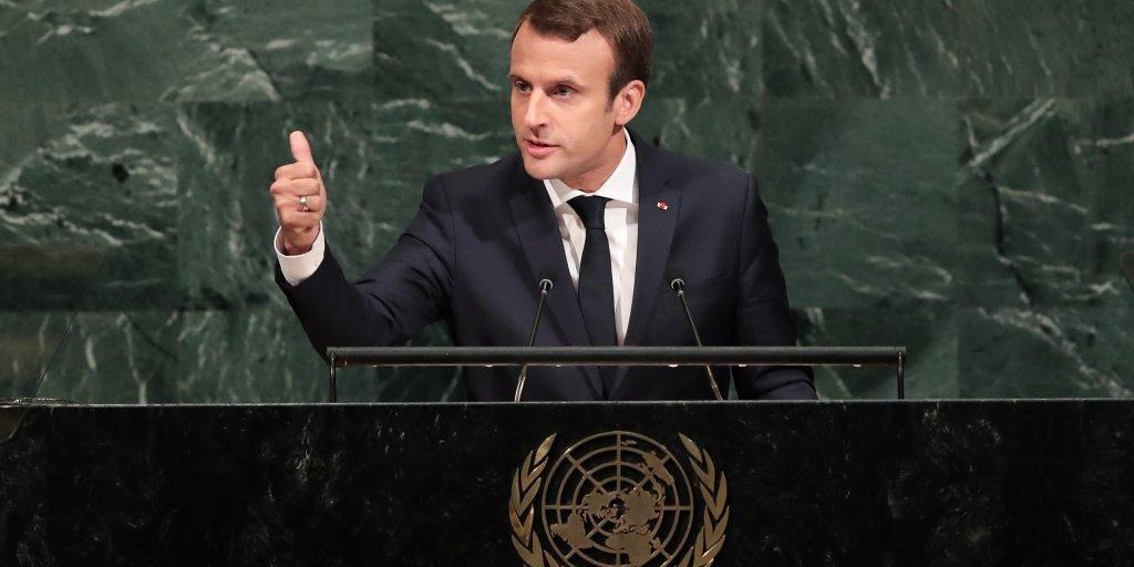 France S Emmanuel Macron No Renegotiation For Climate Deal Time