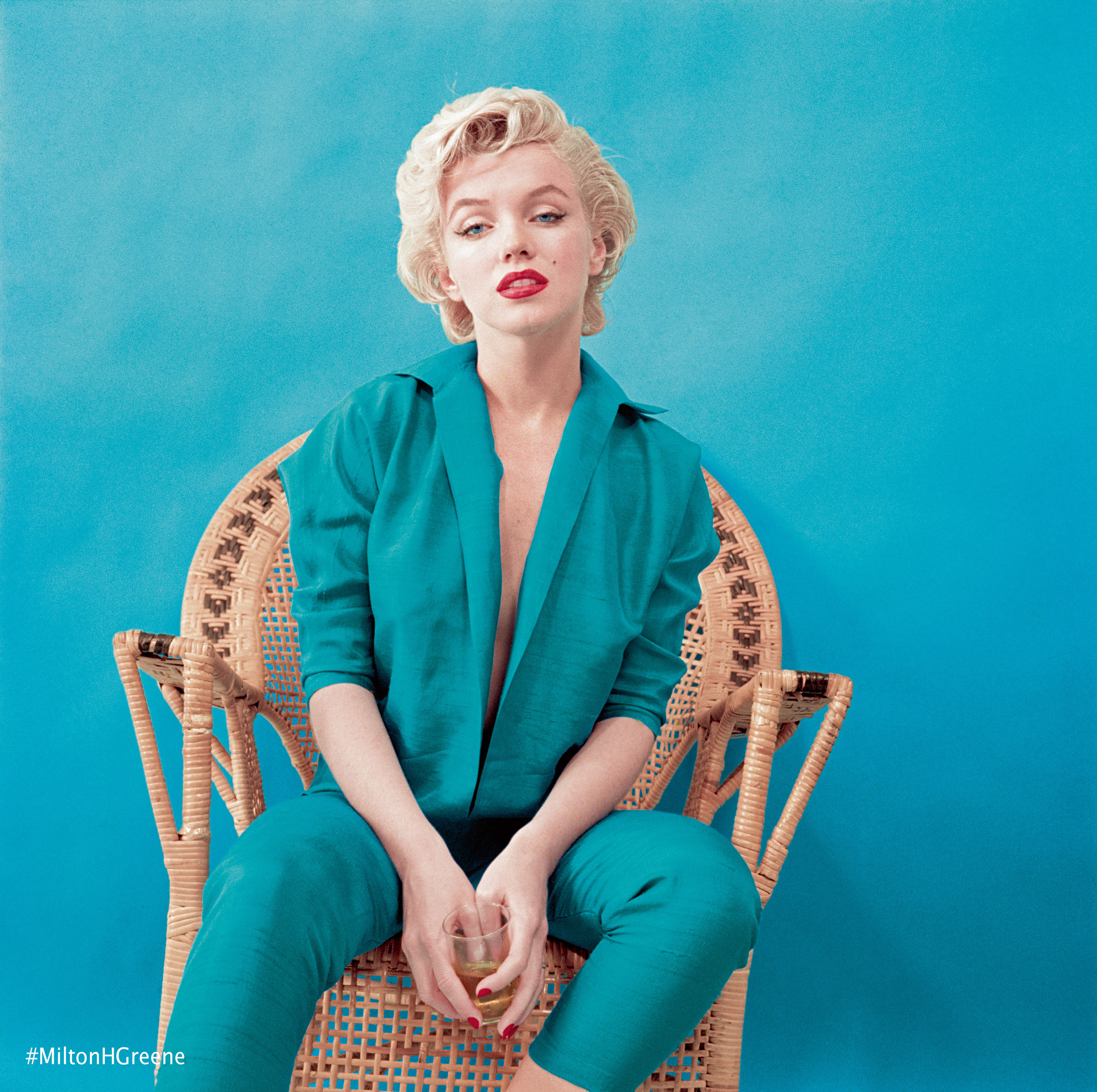 Marilyn Monroe from the March 1955 Wicker session. Photographed by Milton H. Greene ©2017 Joshua Greene archiveimages.com