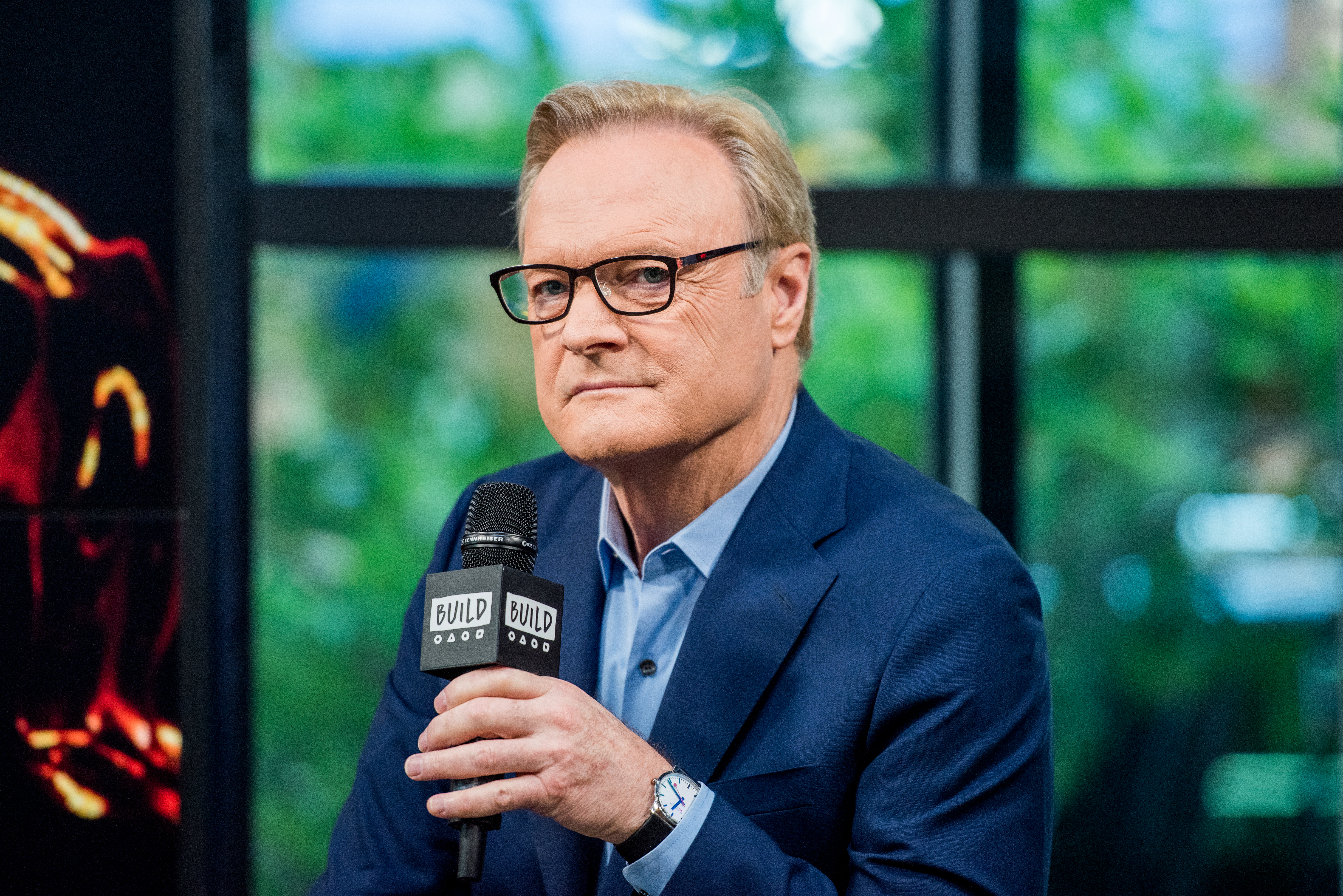 Lawrence O'Donnell discusses  In & Of Itself  with the build series at Build Studio on June 28, 2017.