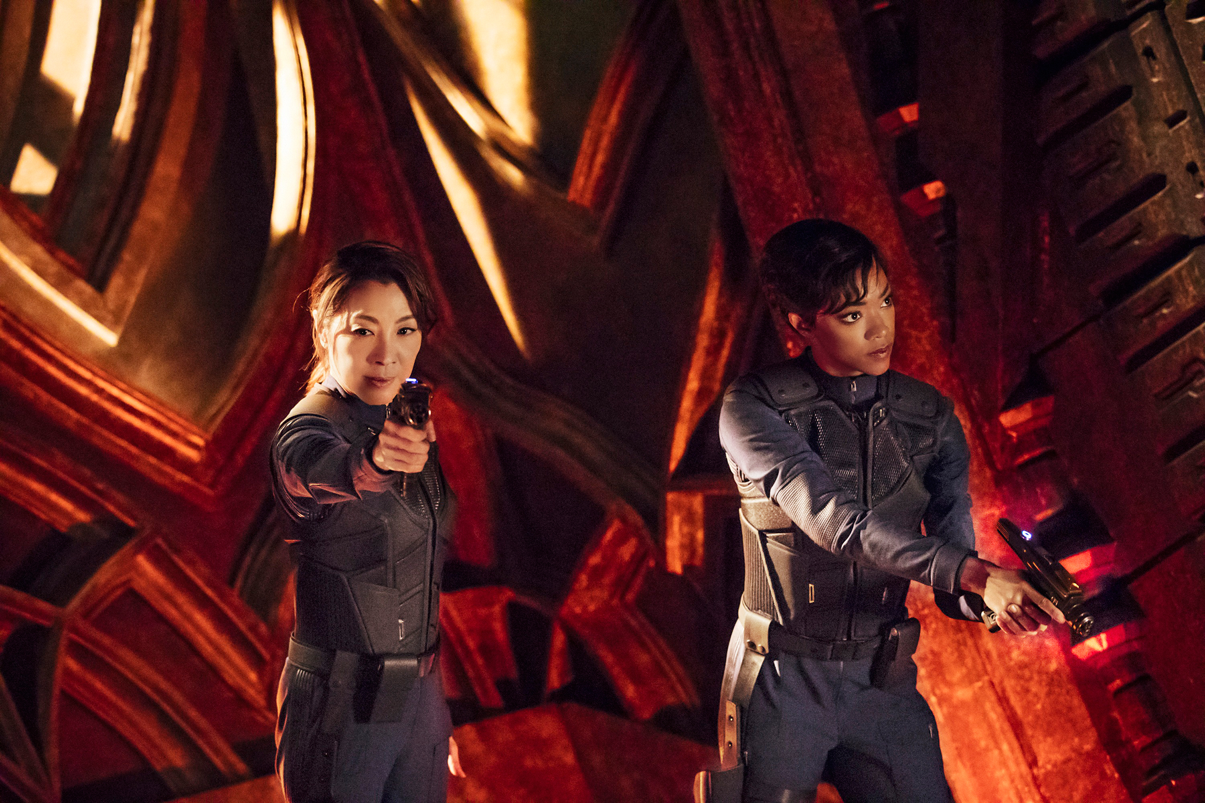 Yeoh and Martin-Green kick off the new Star Trek with an action-packed episode on Sept. 24