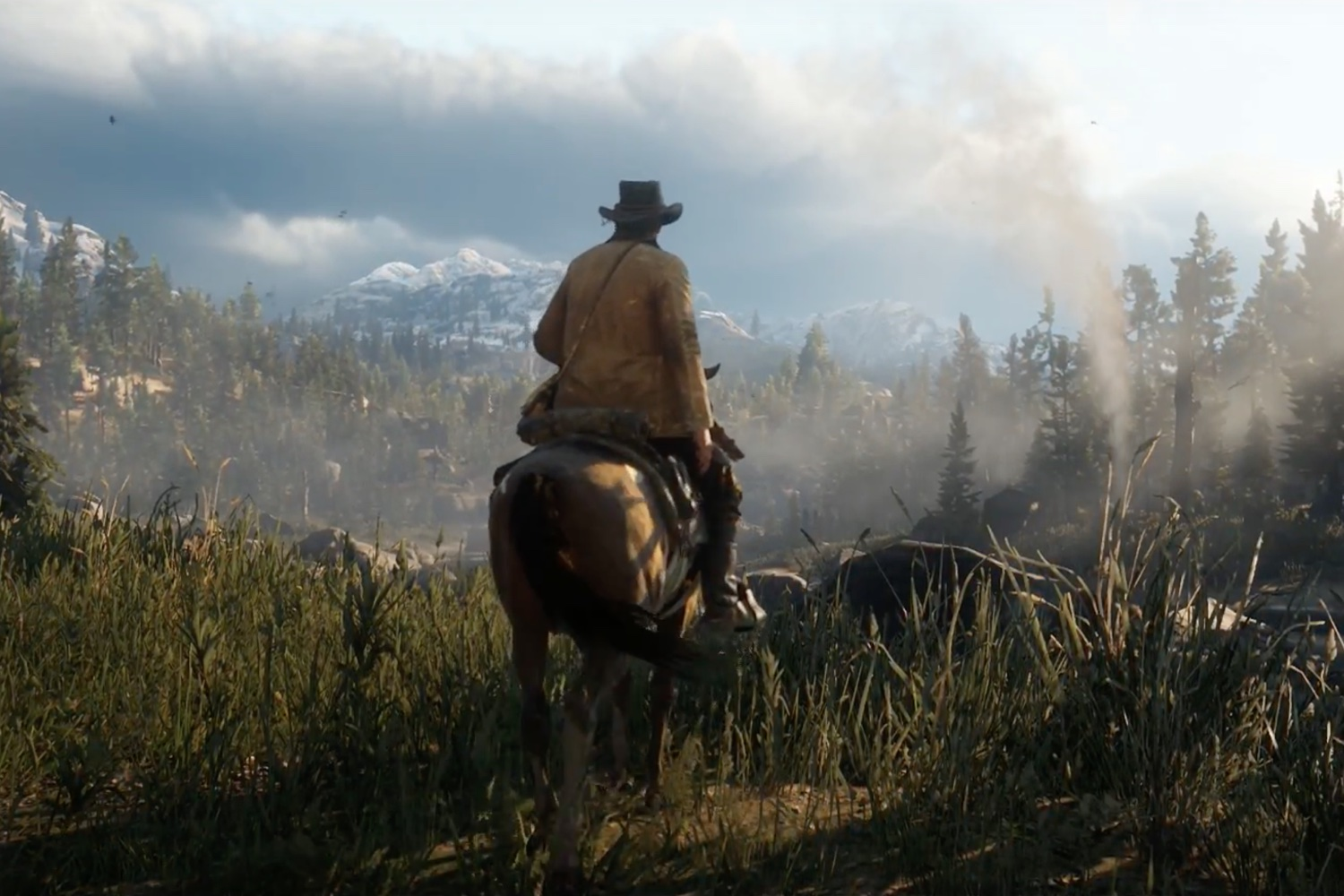 Red Dead Redemption 2 S Second Trailer Looks Incredible Time