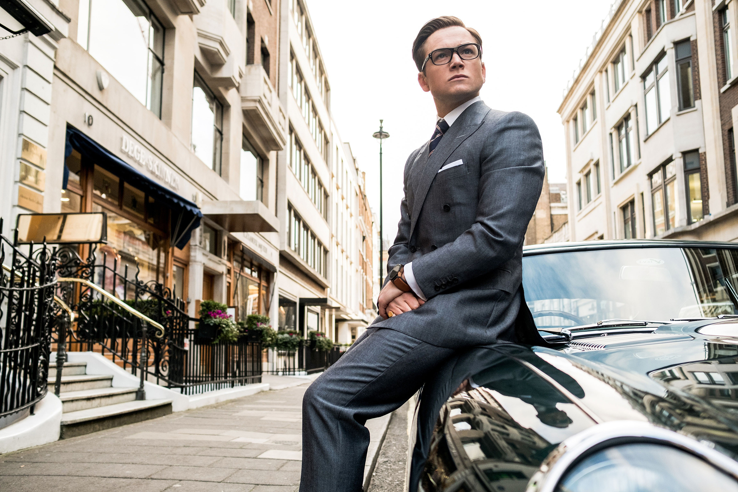 Egerton's Eggsy: If the suit fits, try not to destroy it