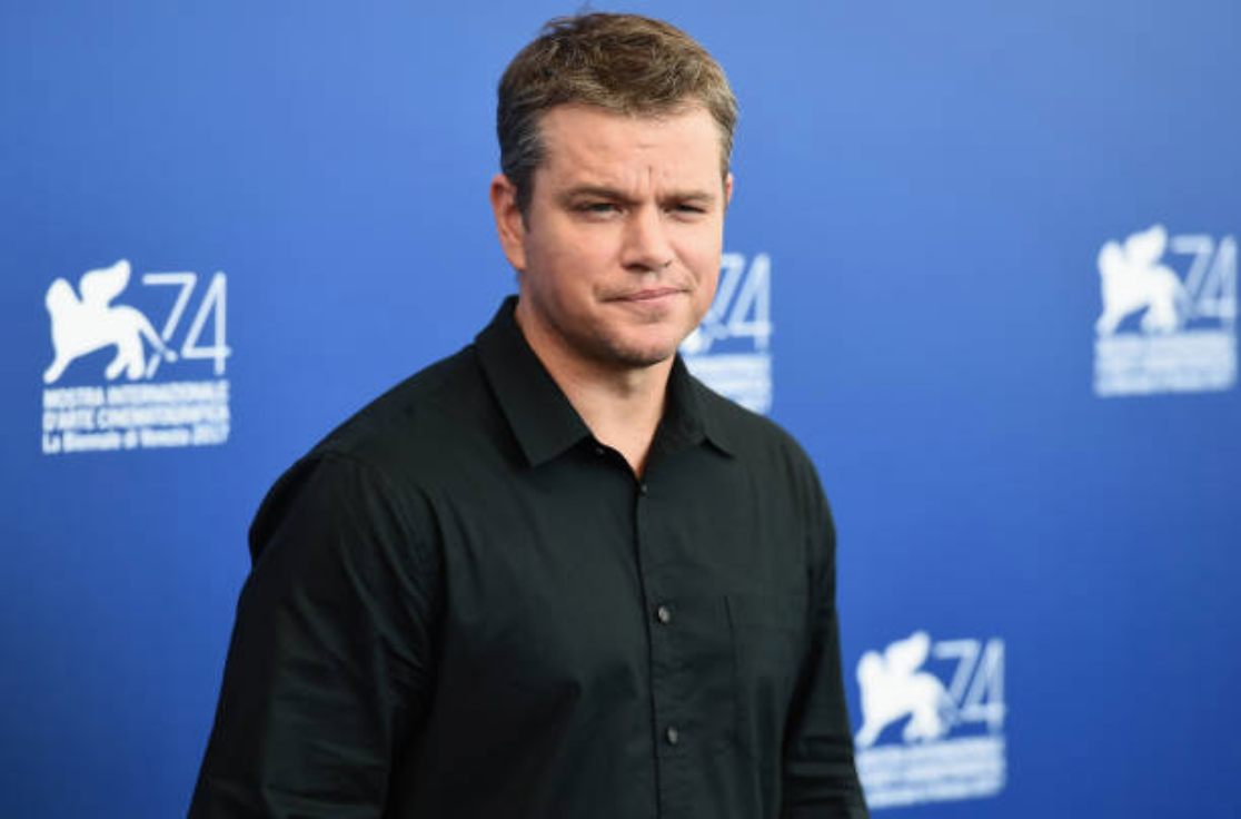 Matt Damon attends the 'Downsizing' photocall during the 74th Venice Film Festival on August 30, 2017 in Venice, Italy.