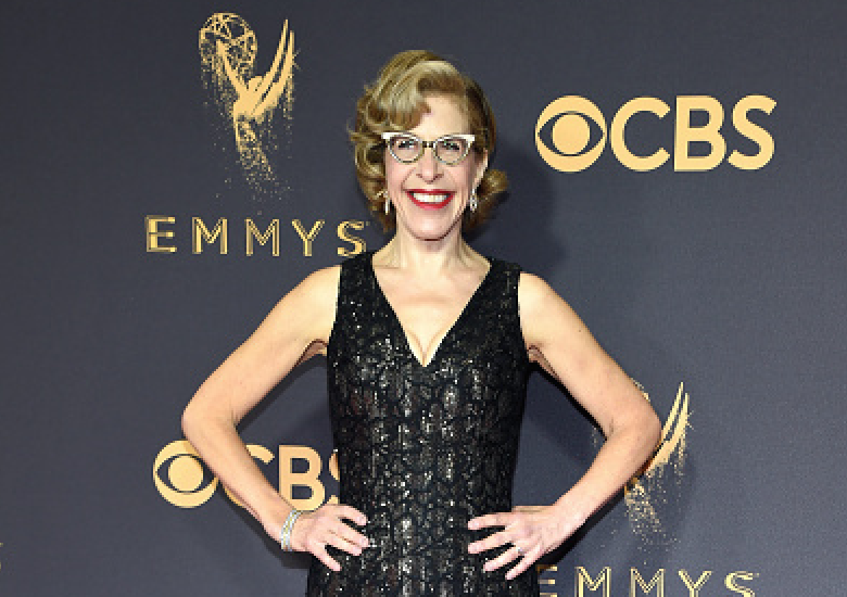 Jackie Hoffman attends the 69th Annual Primetime Emmy Awards at Microsoft Theater on September 17, 2017 in Los Angeles, California.