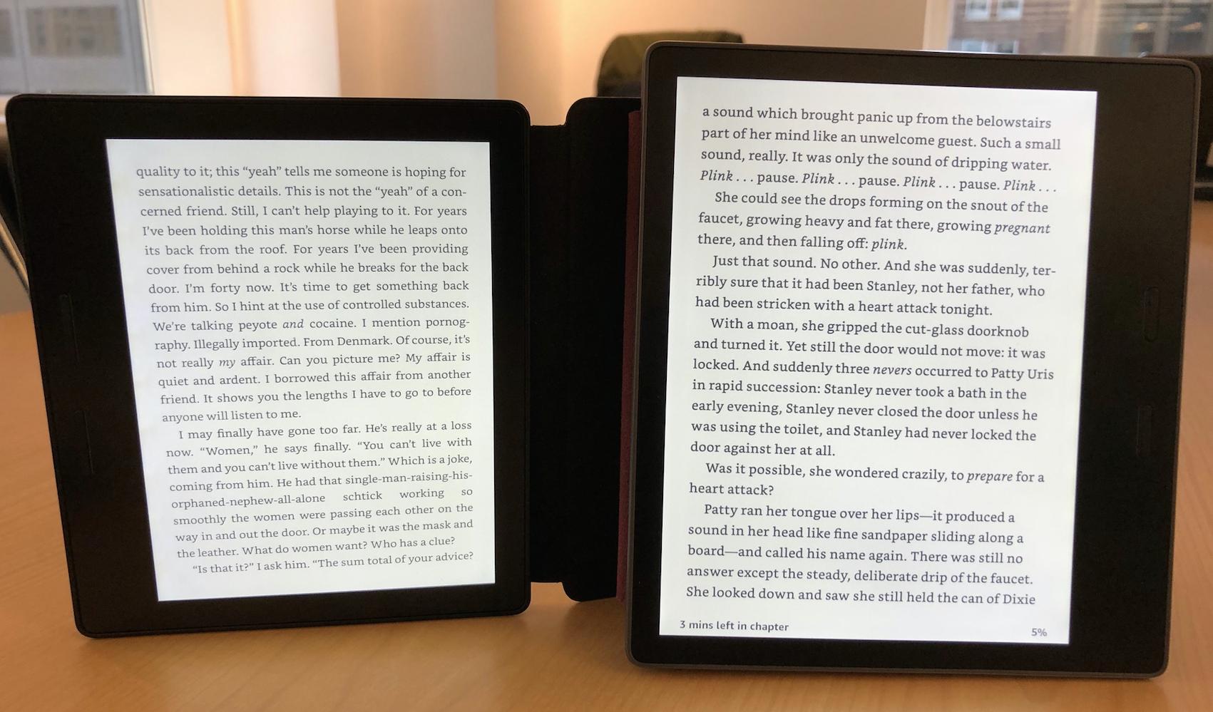 Amazon S New Kindle Oasis Has A Bigger Screen Cheaper Price
