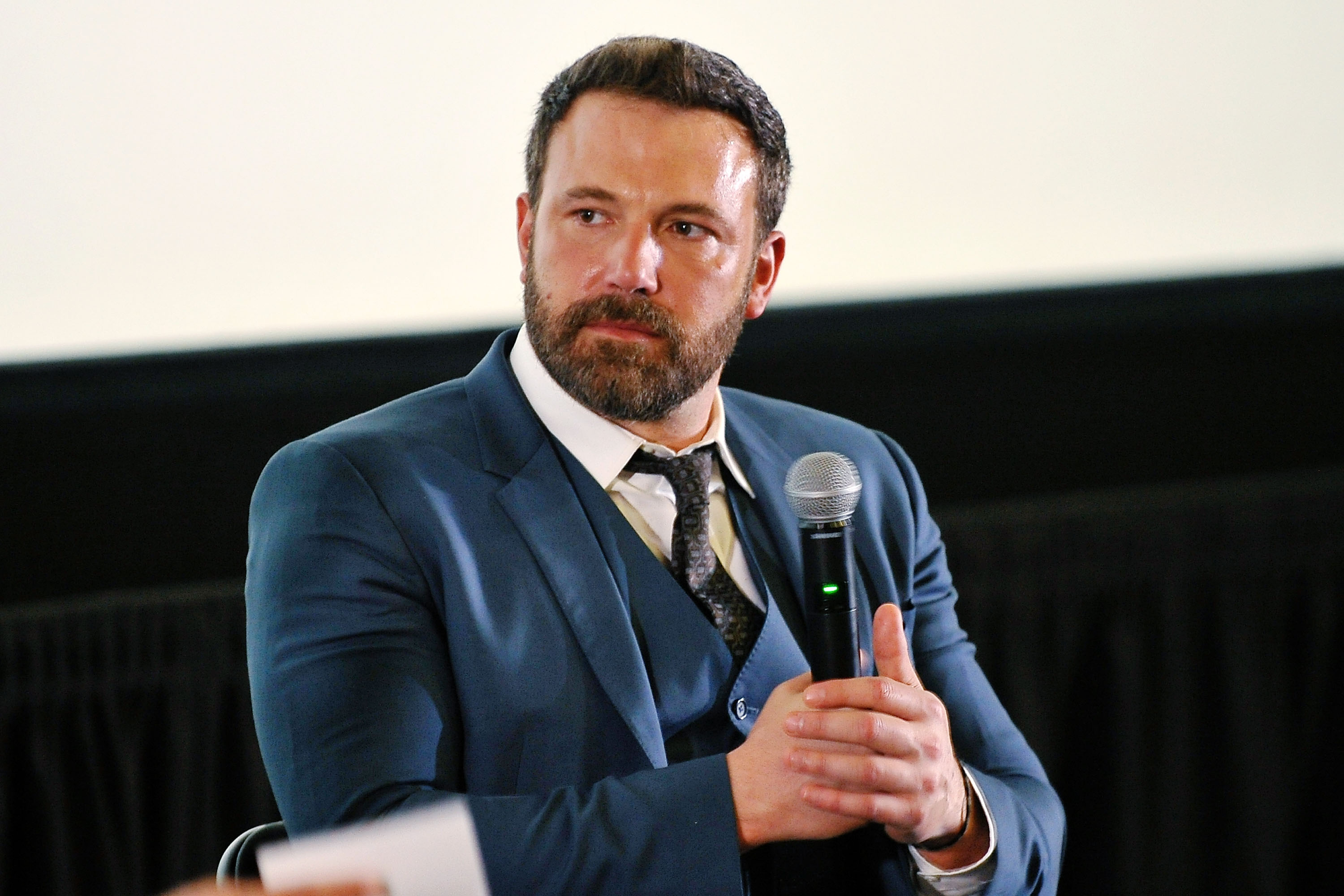 Ben Affleck attends 1st Annual AutFest International Film Festival at AMC Orange 30 on April 23, 2017 in Orange, California.
