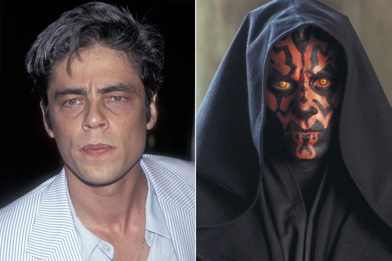 Benicio Del Toro was almost cast as Darth Maul in Star Wars