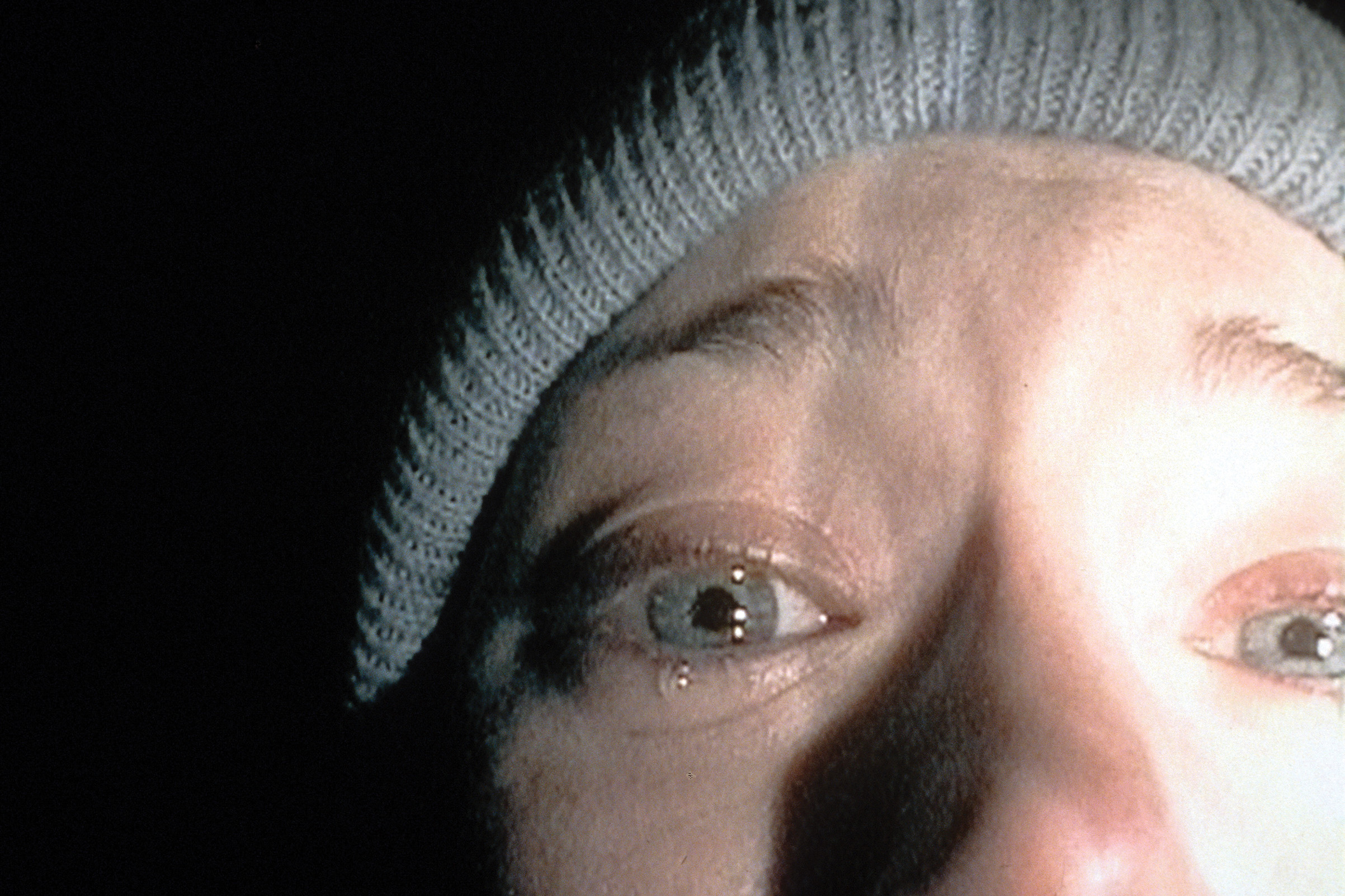 Heather Donahue in a scene from the film 'The Blair Witch Project', 1999.