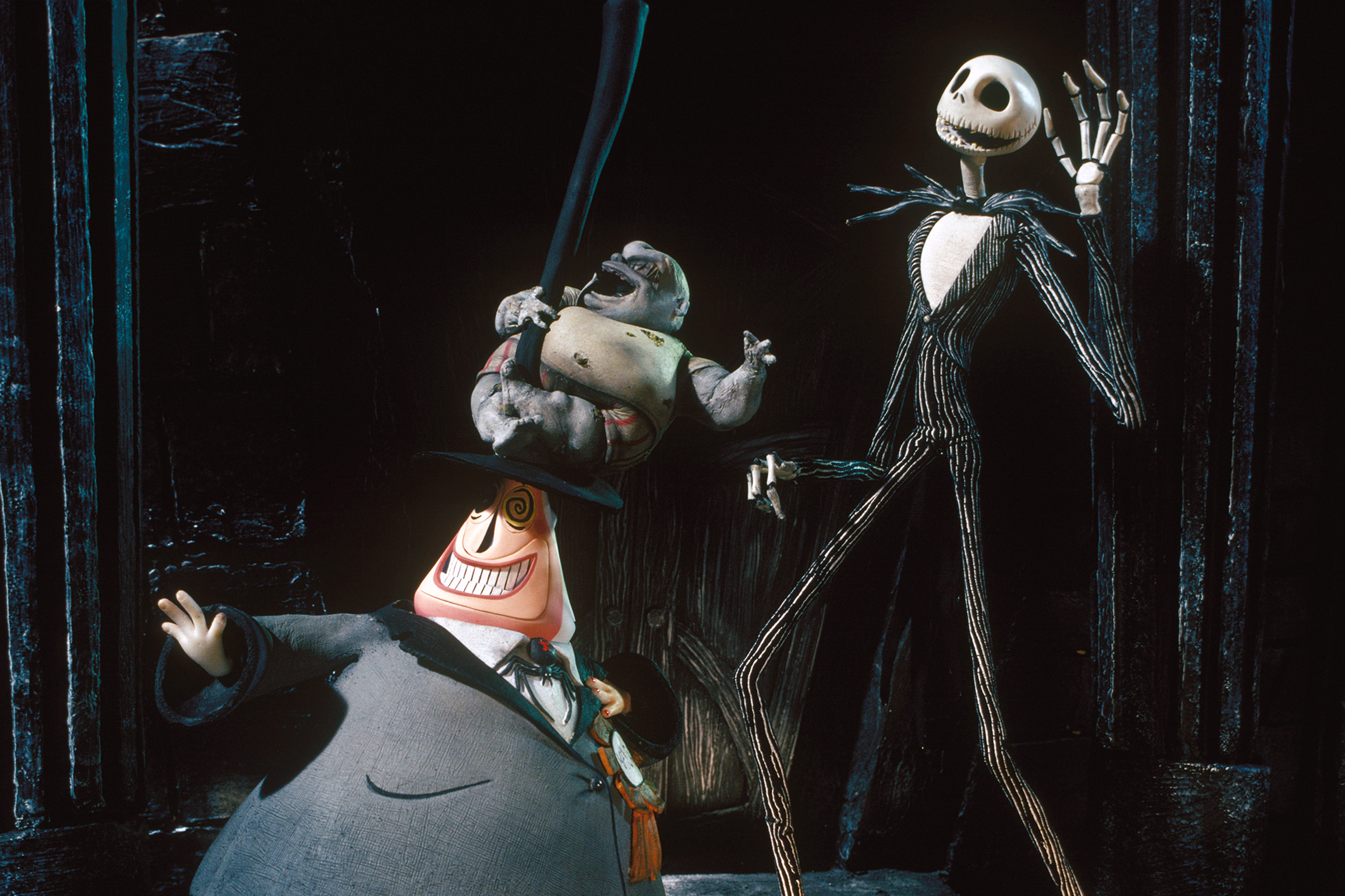 A still from Tim Burton's 'The Nightmare Before Christmas.' Sunset Boulevard/Corbis/Getty Images