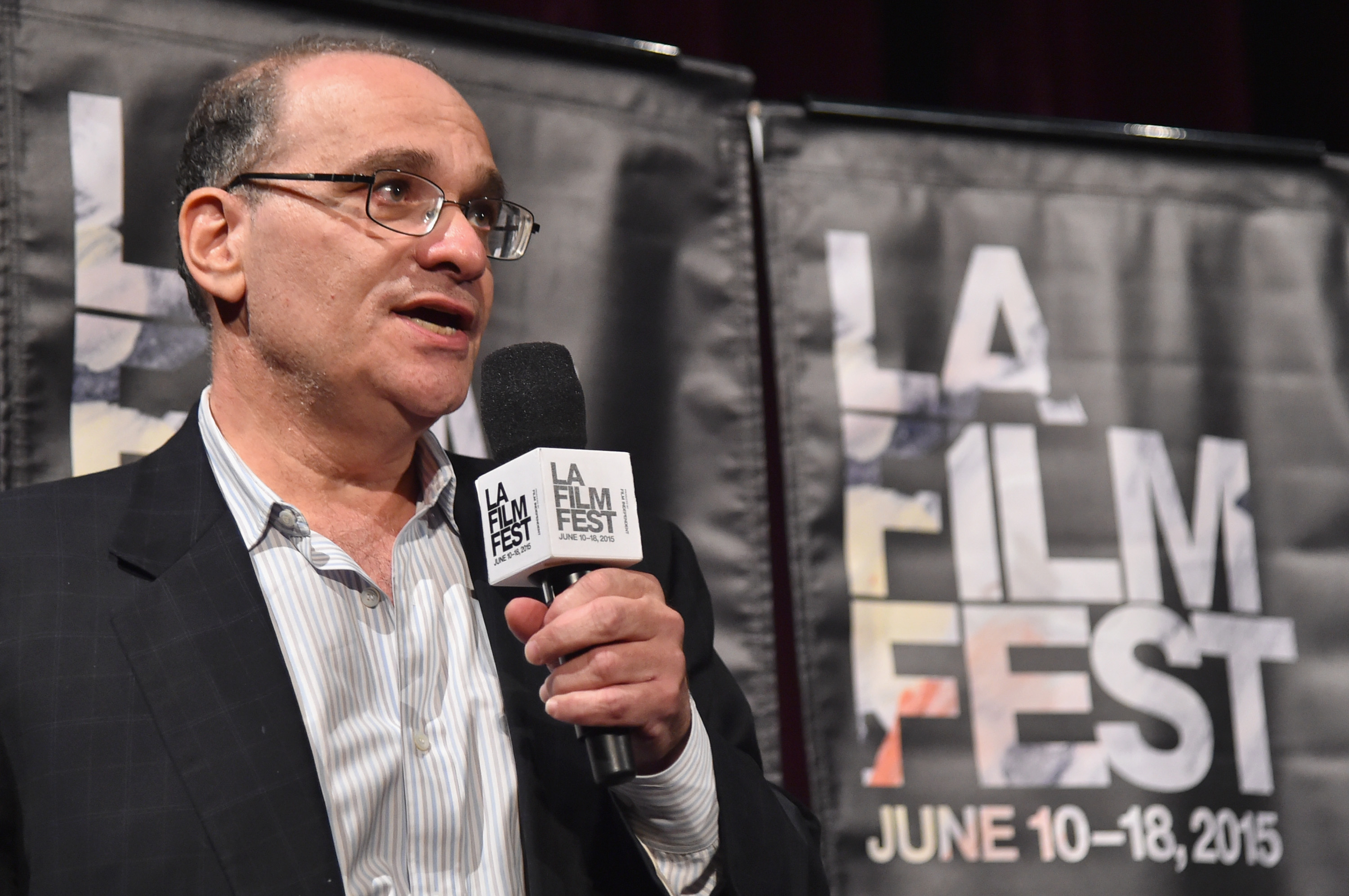 Executive producer Bob Weinstein attends the MTV and Dimension TV premiere of  Scream  at the Los Angeles Film Festival on June 14, 2015.