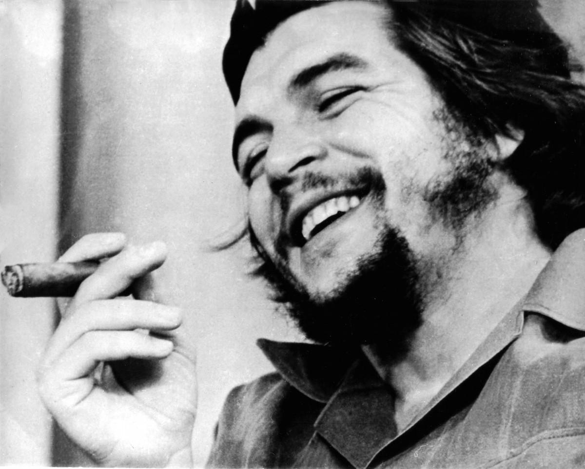Portrait of Che Guevara (1928-1967) in Cuba, undated.