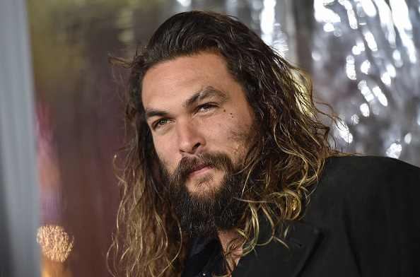 Actor Jason Momoa arrives at the Premiere of 'Live By Night' in Hollywood, Calif. on Jan. 9, 2017.