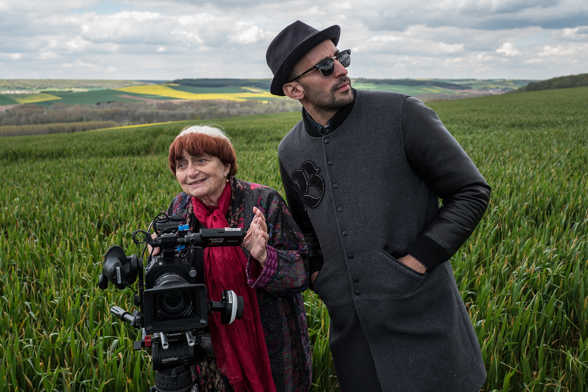 Filmmaker Agnès Varda and French street artist JR co-directed Faces Places