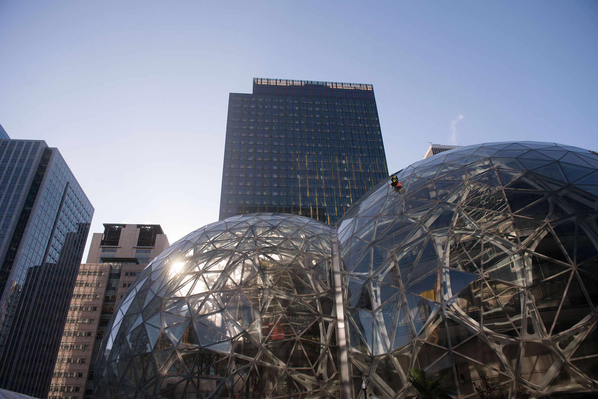 Amazon's current HQ in Seattle has helped drive explosive growth in the city.