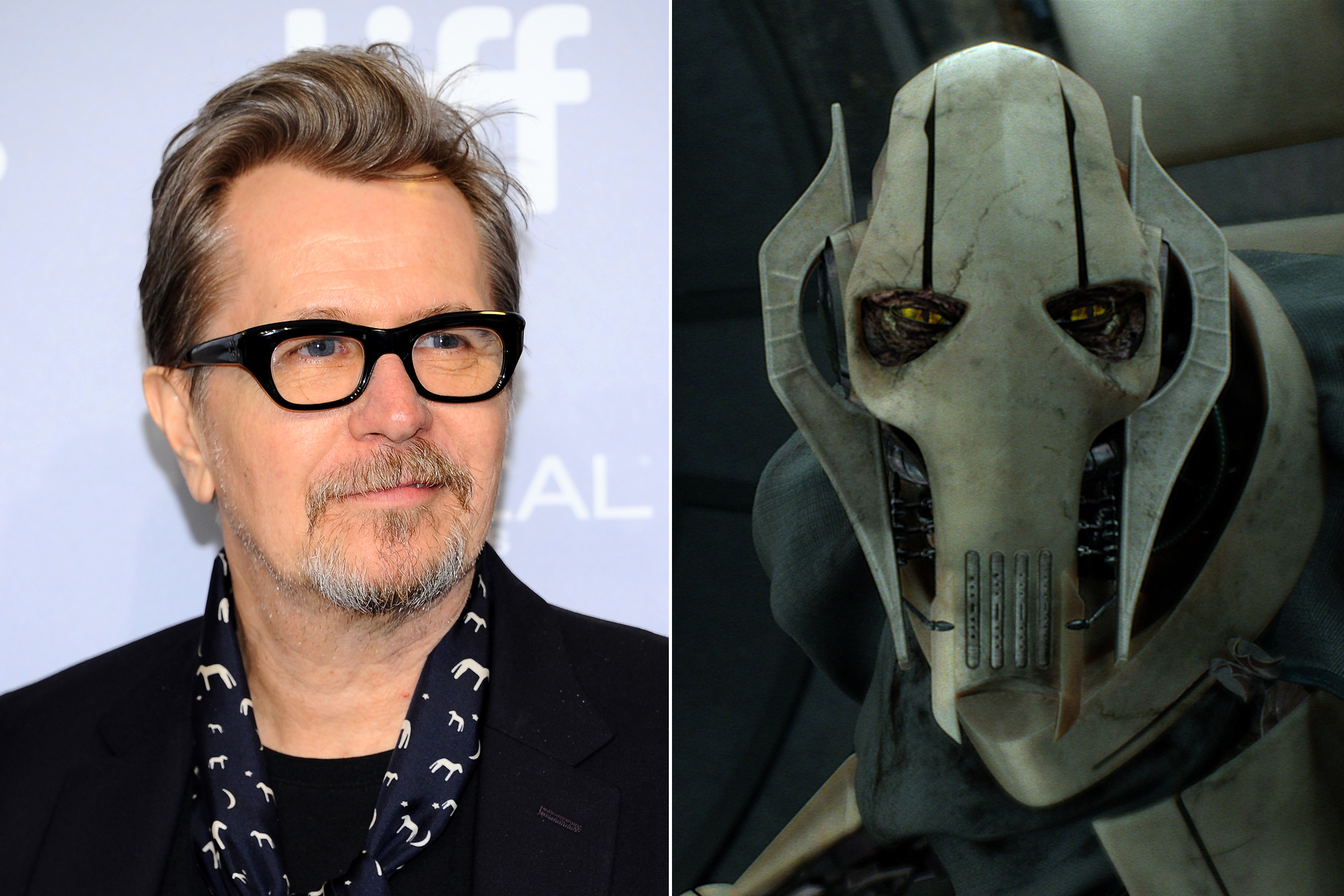 Gary Oldman was almost cast as General Grievious in Star Wars