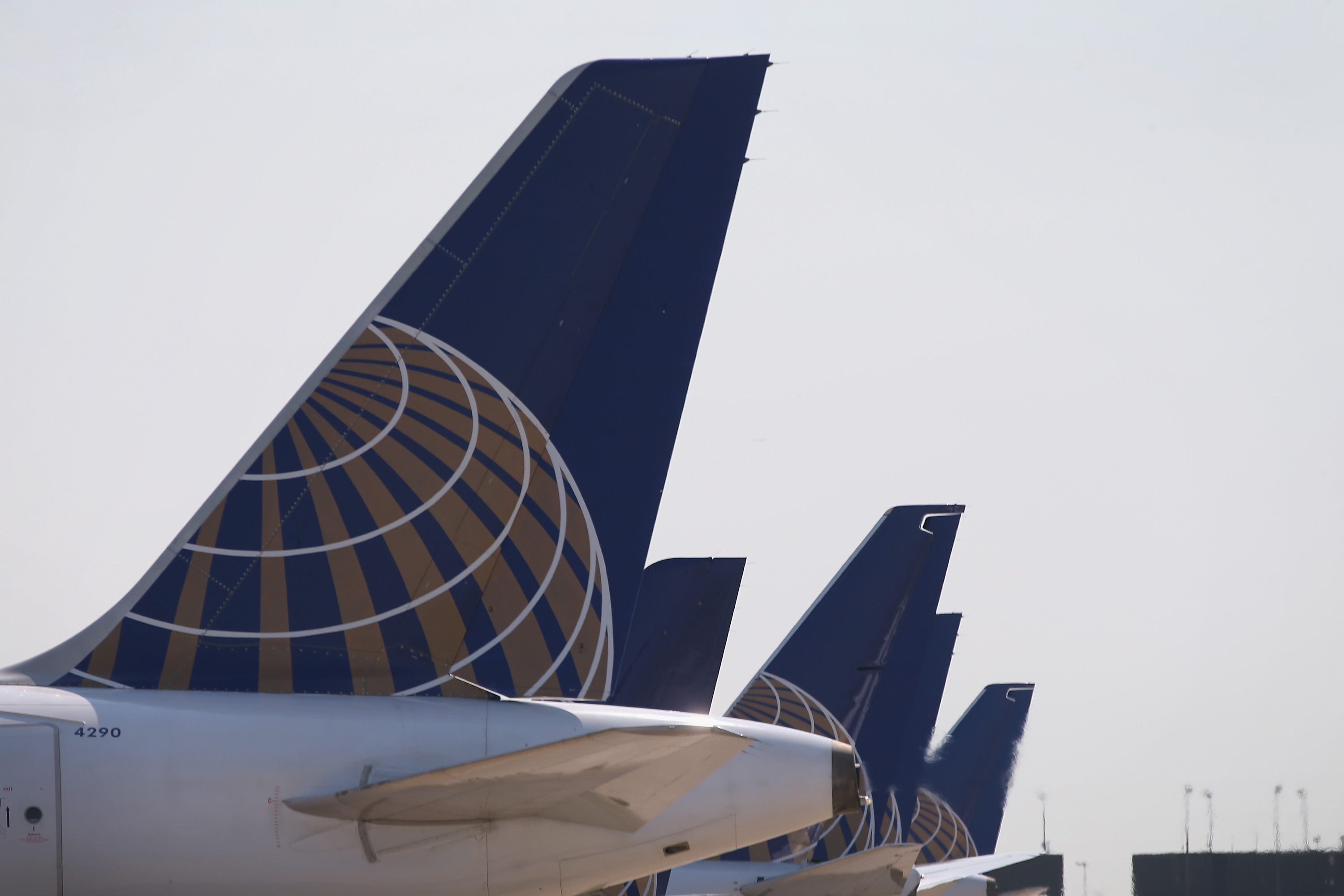 The Sept. 19, 2014 file photo shows a United Airlines jet at O'Hare International Airport in Chicago.
