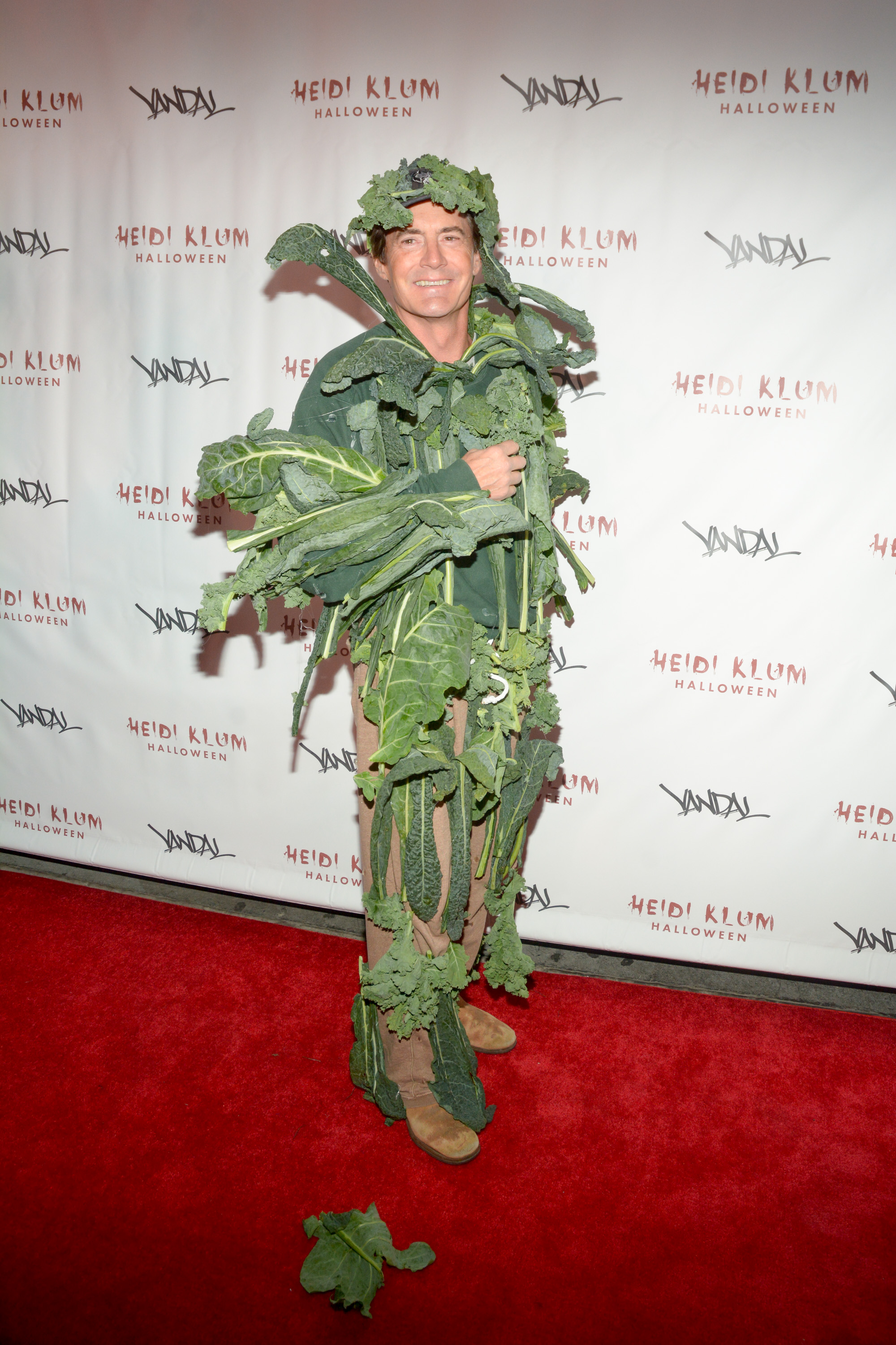 Best Interpretation of Food: On more than one occasion, Kyle McLachlan has embodied food realistically and tastefully; in 2016, he came as kale, while in 2011, he came as cheese in a can.
