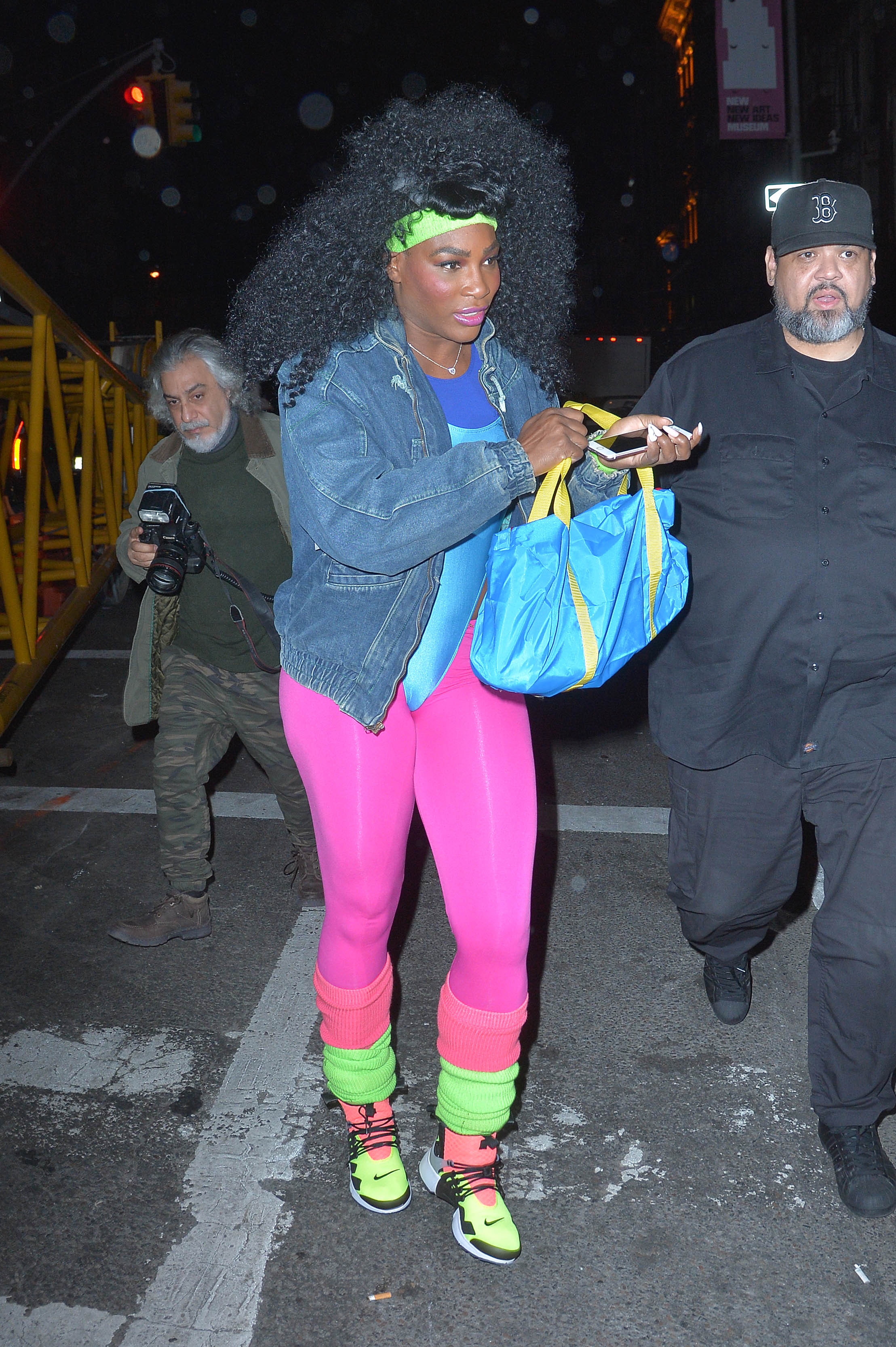 Most On-Brand: Serena Williams is, arguably, the greatest athlete of all time. So it should come as no surprise that she went for a sporty athletic look for her Halloween costume in 2016.