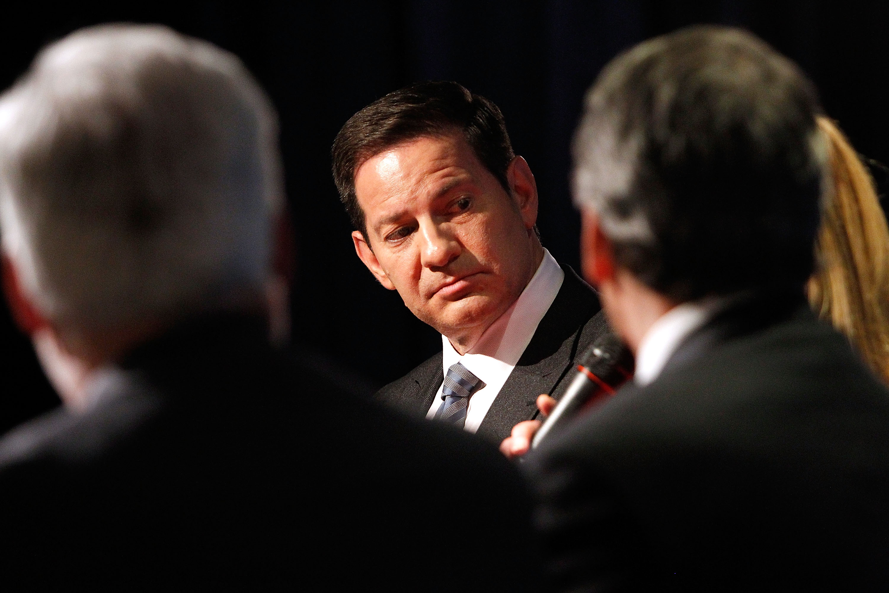 Mark Halperin from Showtime's 'The Circus' participates in a panel discussion at the Showtime-presented finale reception and discussion of the second season of THE CIRCUS: INSIDE THE BIGGEST STORY ON EARTH at The Newseum on May 3, 2017 in Washington, DC.